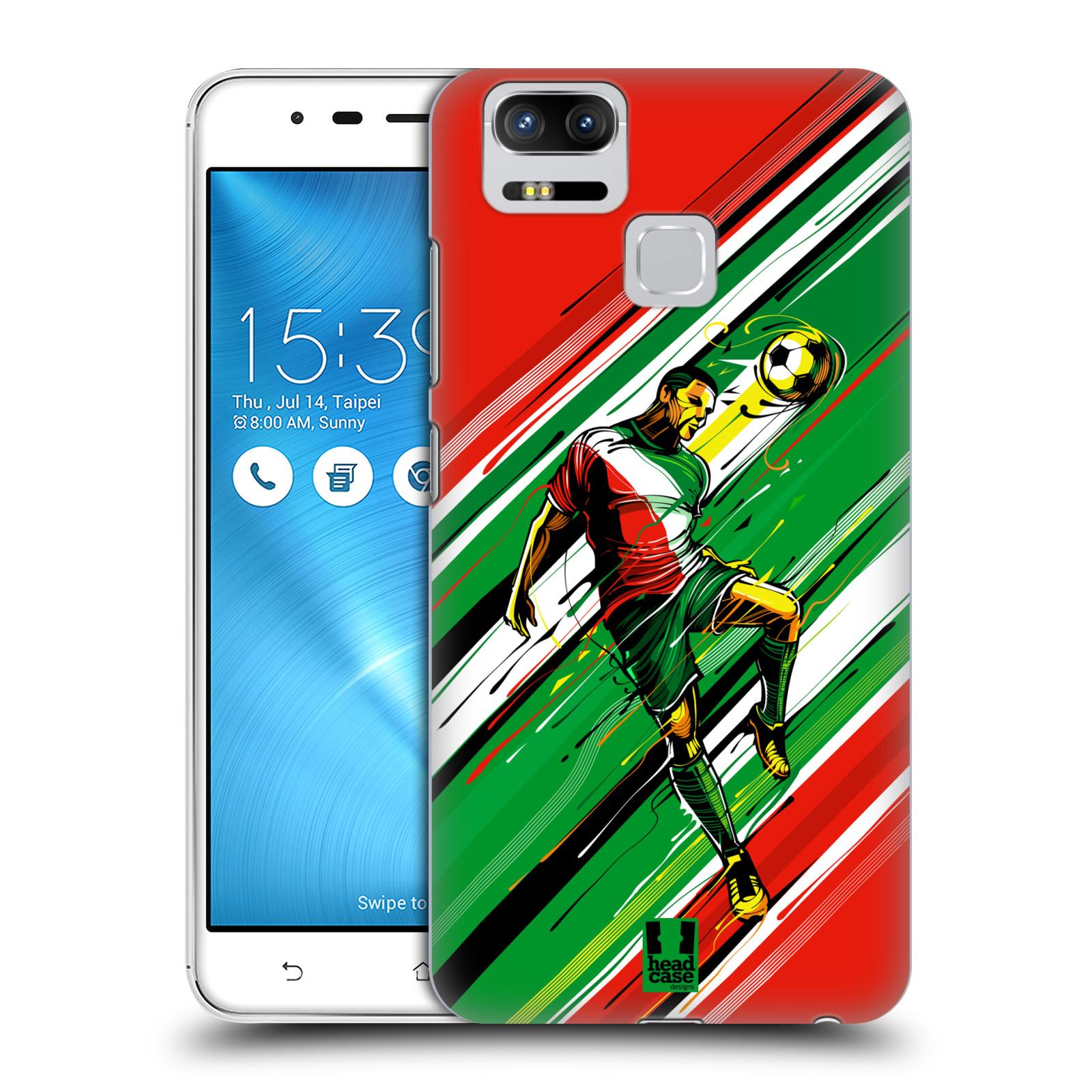 Plastové pouzdro na mobil Asus ZenFone 3 ZOOM ZE553KL - Head Case - HLAVIČKA (Plastový kryt či obal na mobilní telefon Asus ZenFone 3 ZOOM ZE553KL s motivem HLAVIČKA)
