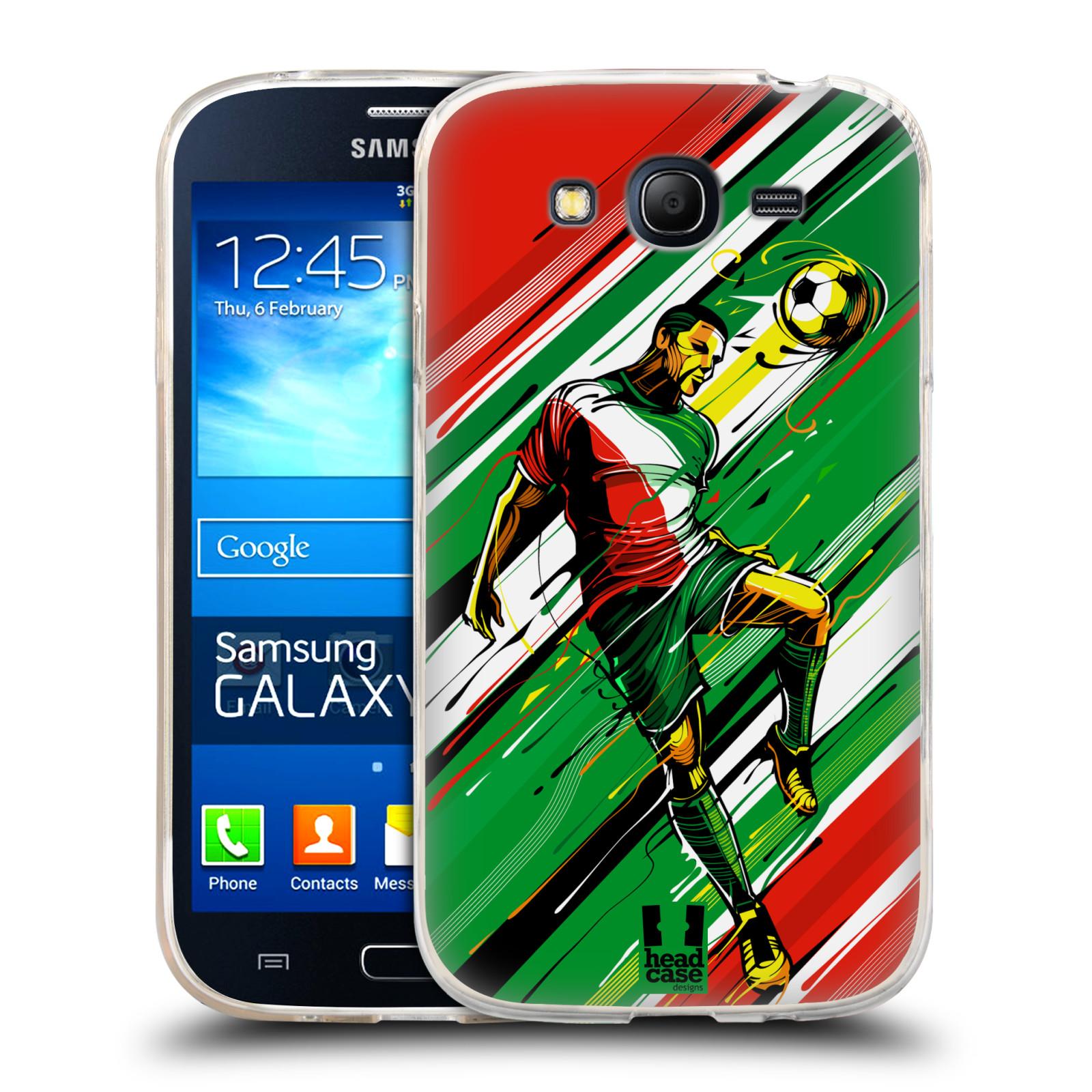 Silikonové pouzdro na mobil Samsung Galaxy Grand Neo Plus HEAD CASE HLAVIČKA (Silikonový kryt či obal na mobilní telefon Samsung Galaxy Grand Neo Plus Duos GT-I9060i)