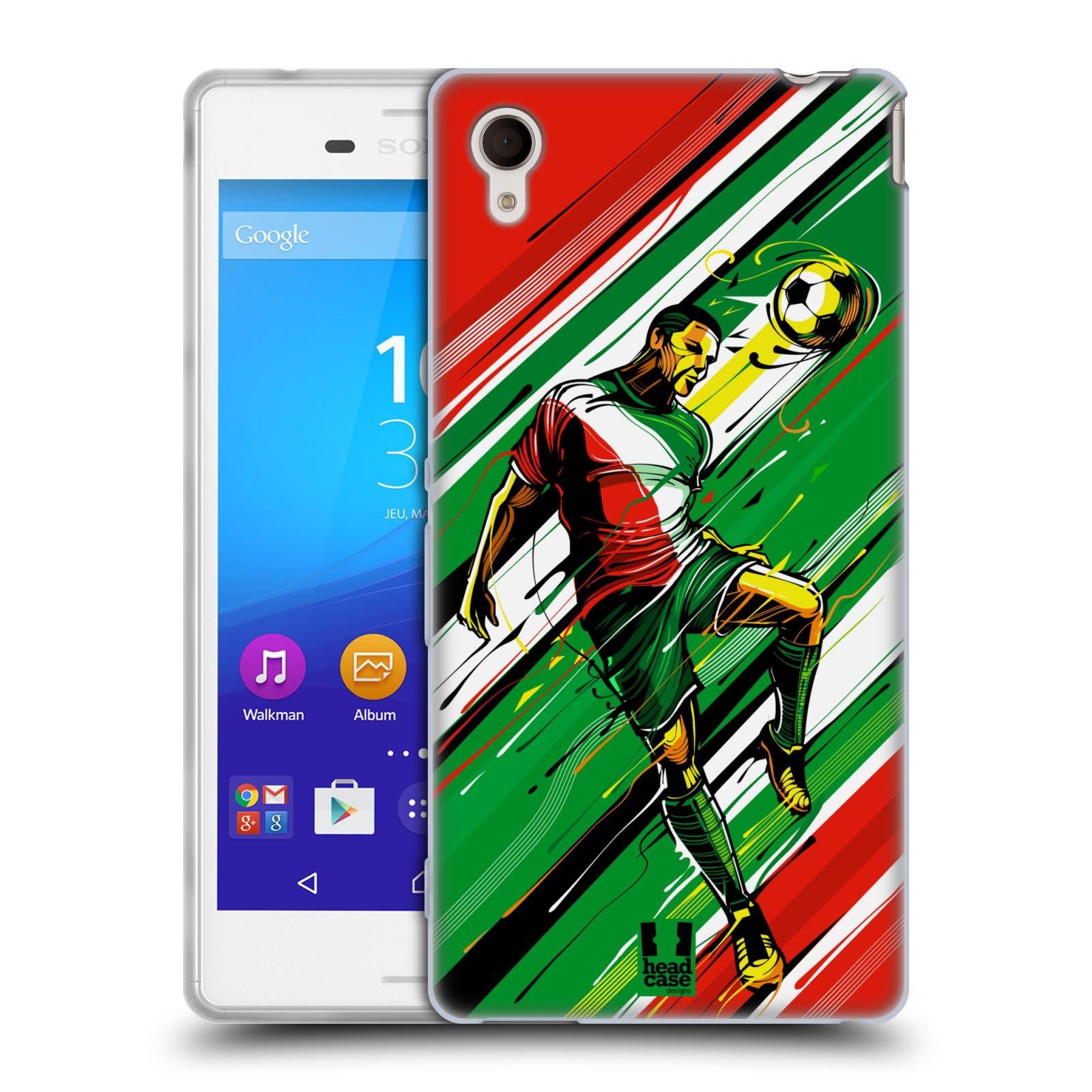 Silikonové pouzdro na mobil Sony Xperia M4 Aqua E2303 HEAD CASE HLAVIČKA (Silikonový kryt či obal na mobilní telefon Sony Xperia M4 Aqua a M4 Aqua Dual SIM)