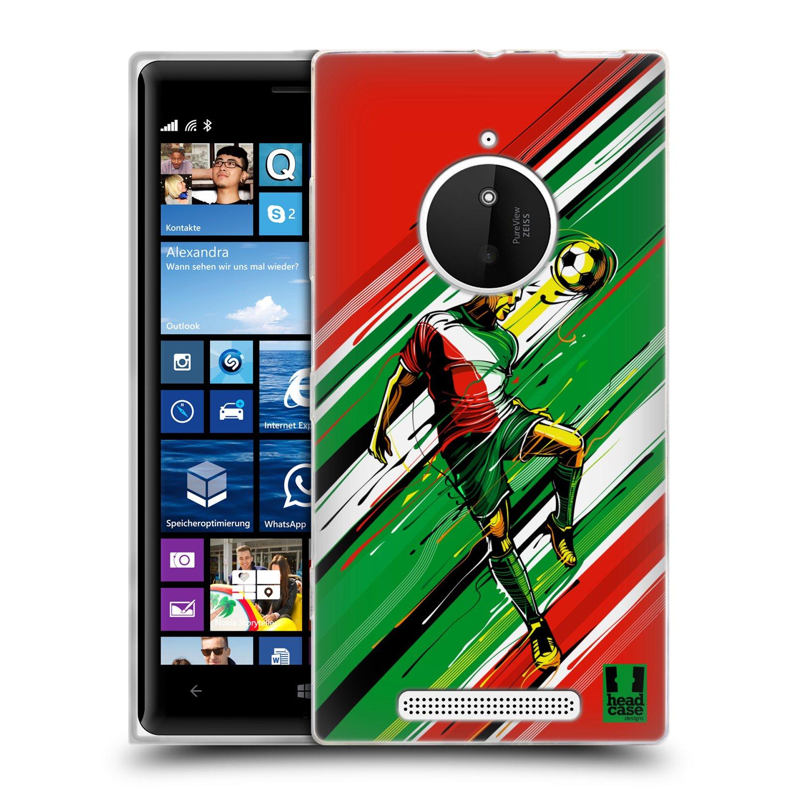Silikonové pouzdro na mobil Nokia Lumia 830 HEAD CASE HLAVIČKA (Silikonový kryt či obal na mobilní telefon Nokia Lumia 830)