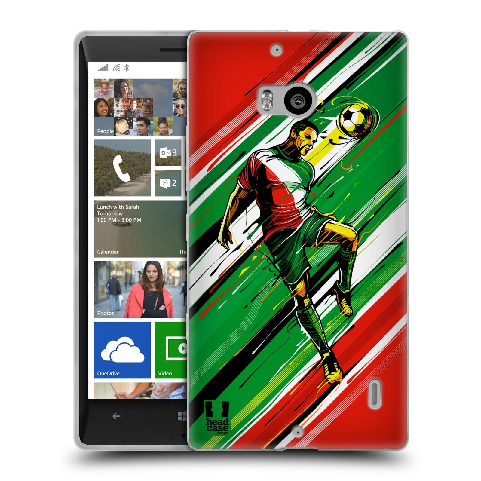 Silikonové pouzdro na mobil Nokia Lumia 930 HEAD CASE HLAVIČKA (Silikonový kryt či obal na mobilní telefon Nokia Lumia 930)