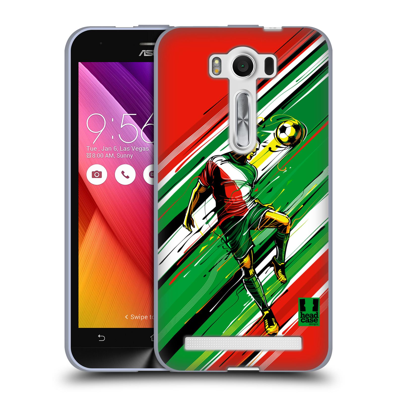 "Silikonové pouzdro na mobil Asus ZenFone 2 Laser ZE500KL HEAD CASE HLAVIČKA (Silikonový kryt či obal na mobilní telefon Asus ZenFone 2 Laser ZE500KL s 5"" displejem)"