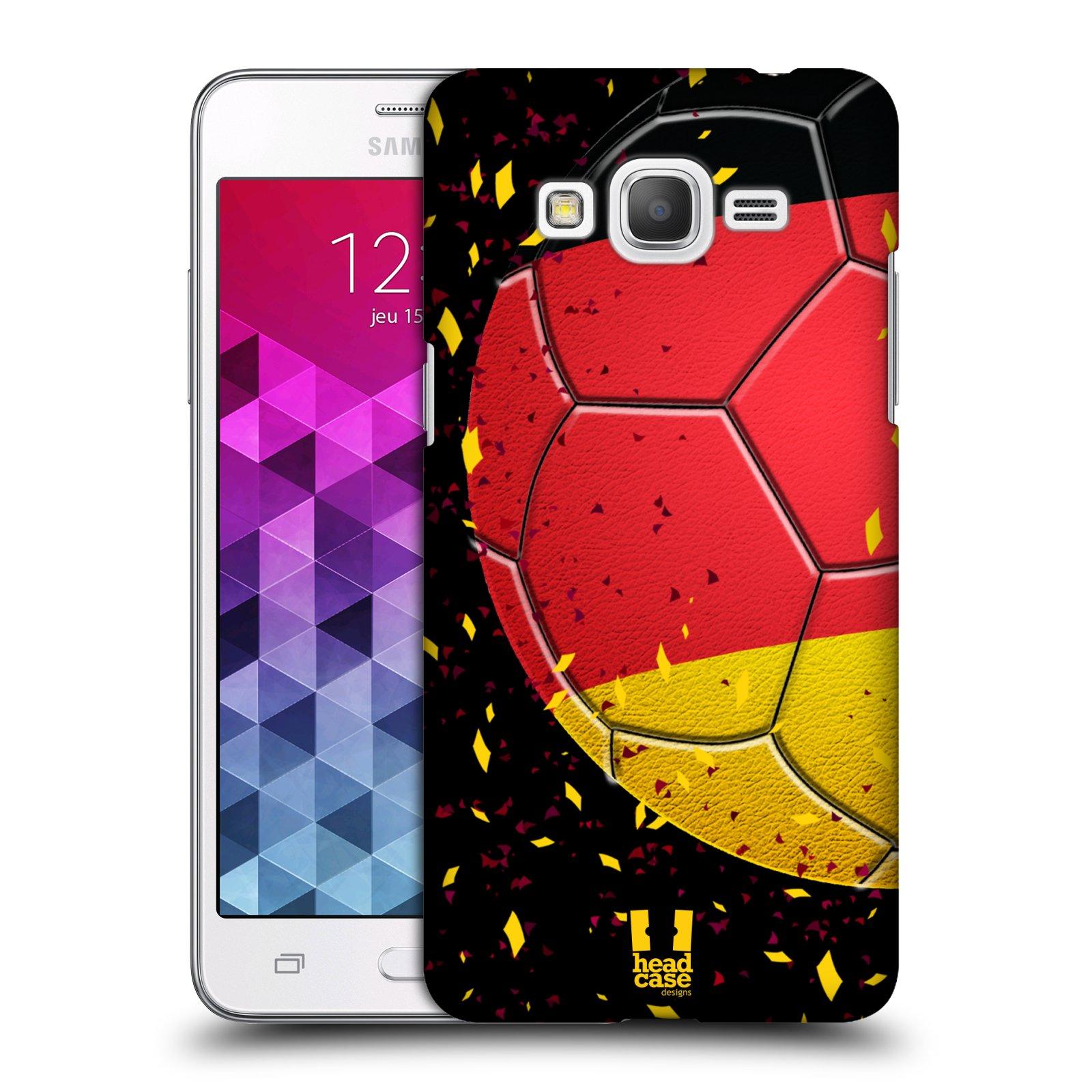 Plastové pouzdro na mobil Samsung Galaxy Grand Prime VE HEAD CASE KOPAČÁK – NĚMECKO