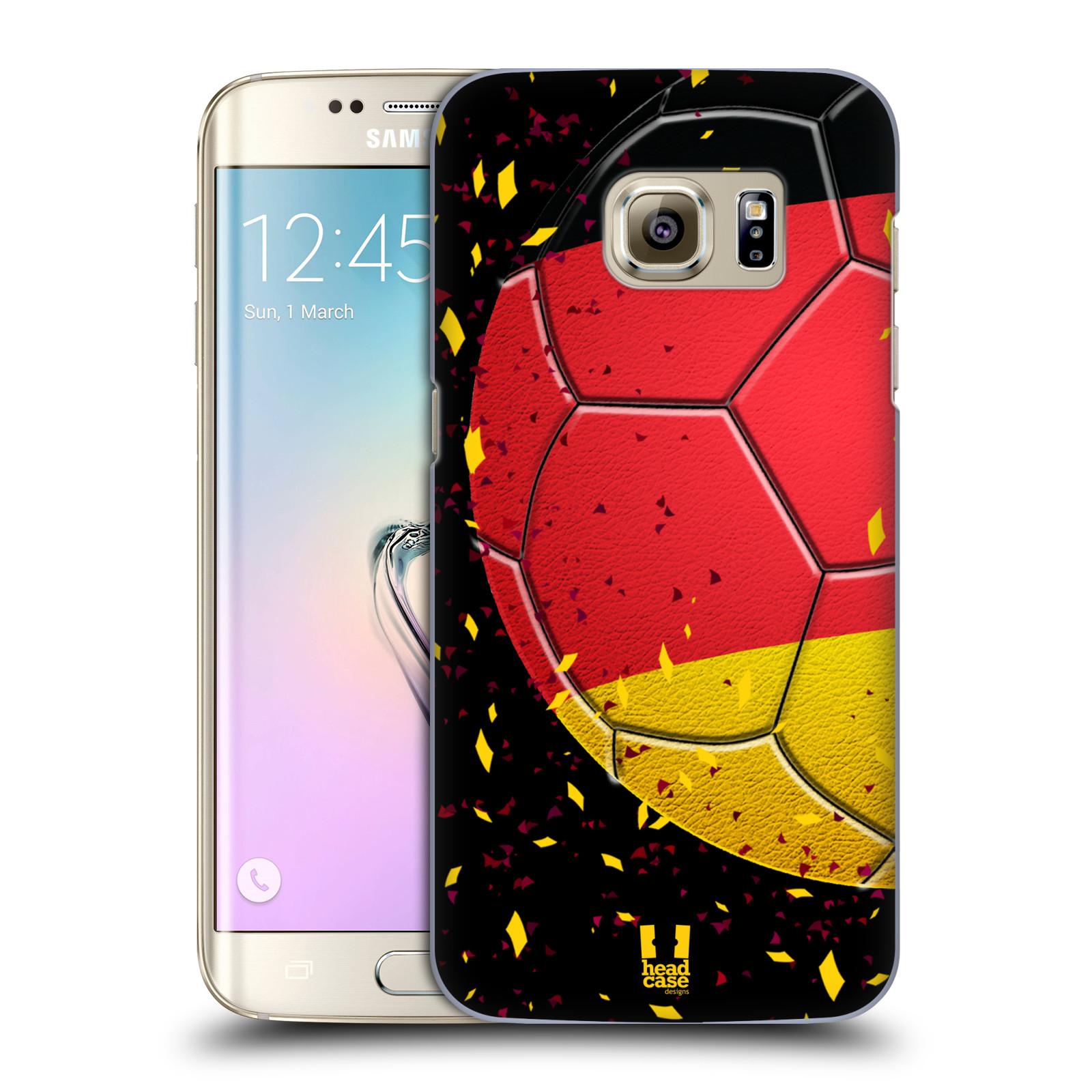 Plastové pouzdro na mobil Samsung Galaxy S7 Edge HEAD CASE KOPAČÁK – NĚMECKO (Kryt či obal na mobilní telefon Samsung Galaxy S7 Edge SM-G935F)