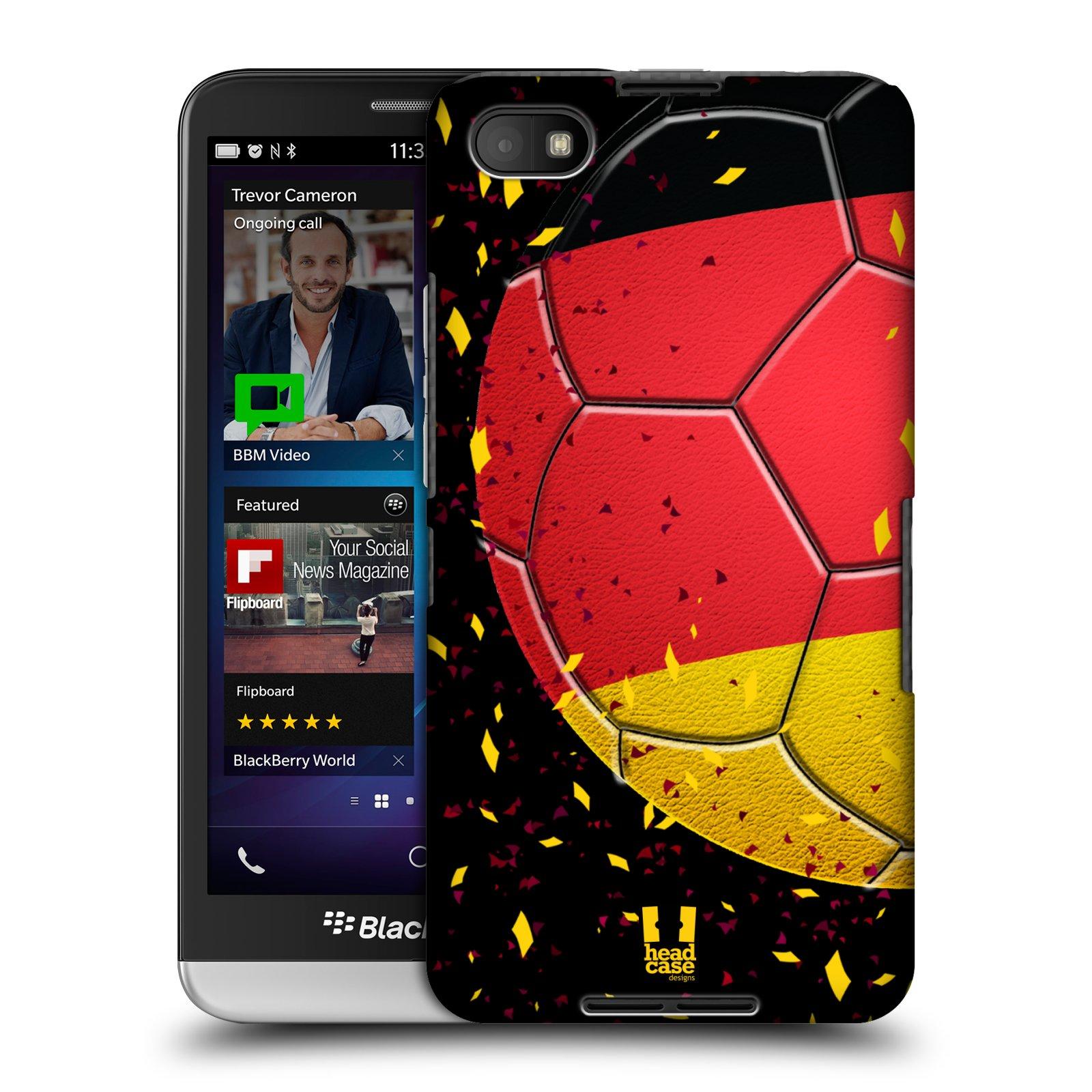 Plastové pouzdro na mobil Blackberry Z30 HEAD CASE KOPAČÁK – NĚMECKO (Kryt či obal na mobilní telefon Blackberry Z30)
