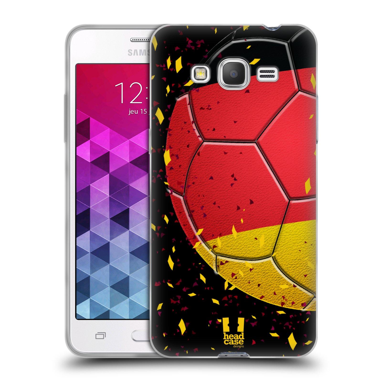 Silikonové pouzdro na mobil Samsung Galaxy Grand Prime HEAD CASE KOPAČÁK – NĚMECKO