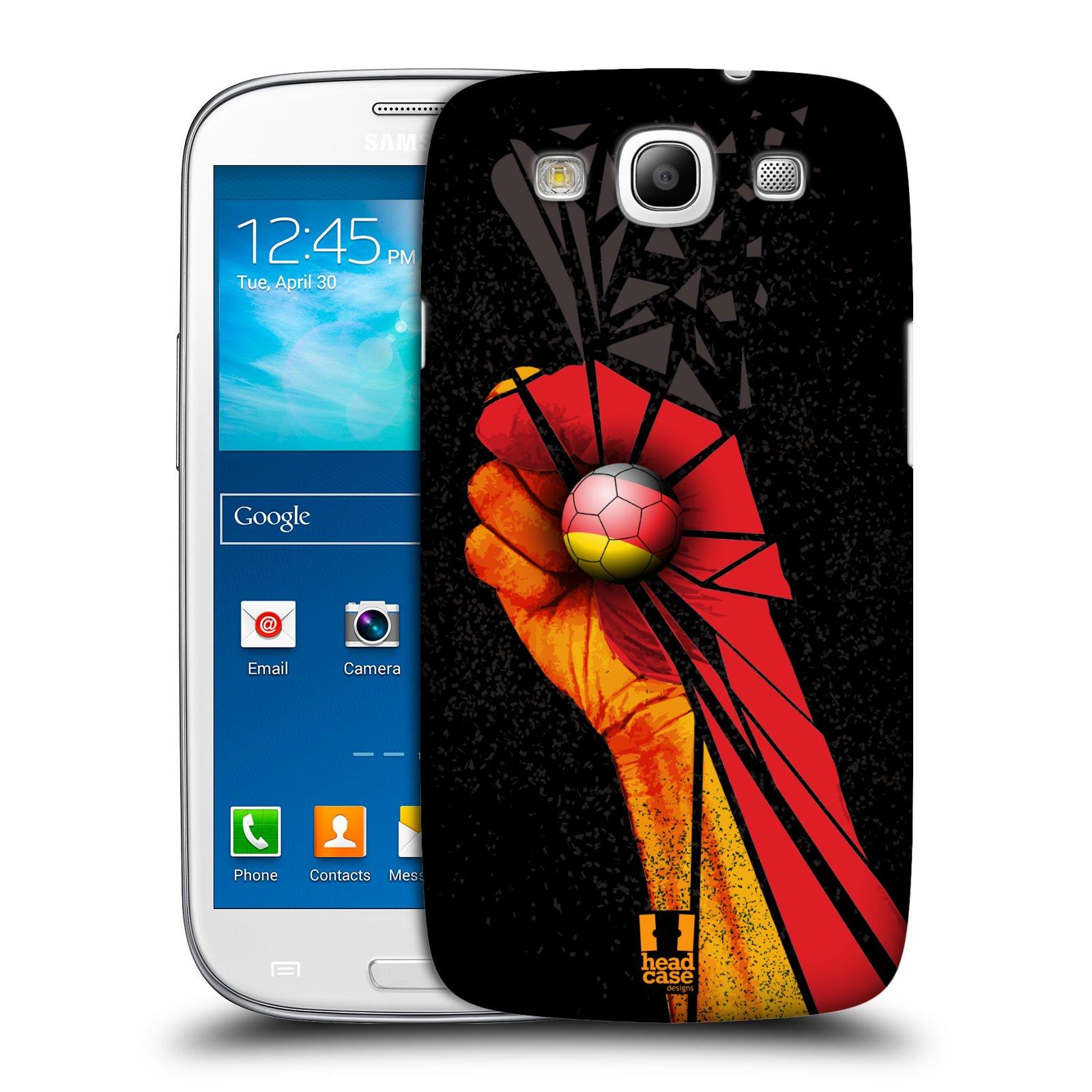 Plastové pouzdro na mobil Samsung Galaxy S3 Neo HEAD CASE OLE NĚMECKO