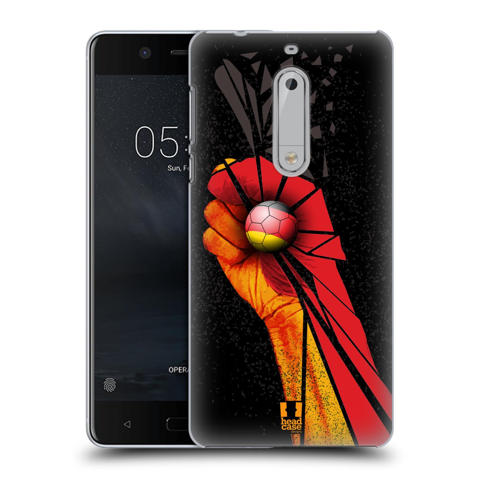 Plastové pouzdro na mobil Nokia 5 Head Case - OLE NĚMECKO (Plastový kryt či obal na mobilní telefon Nokia 5 (2017))