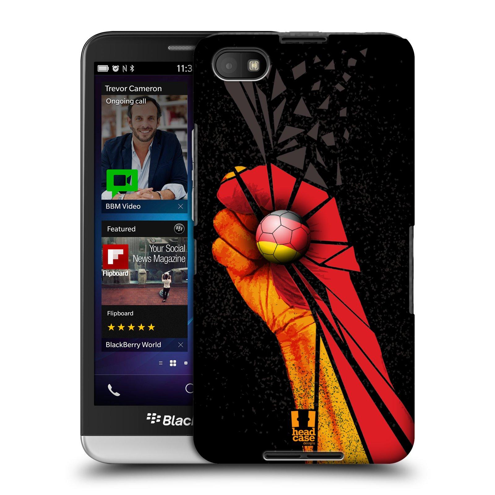 Plastové pouzdro na mobil Blackberry Z30 HEAD CASE OLE NĚMECKO (Kryt či obal na mobilní telefon Blackberry Z30)