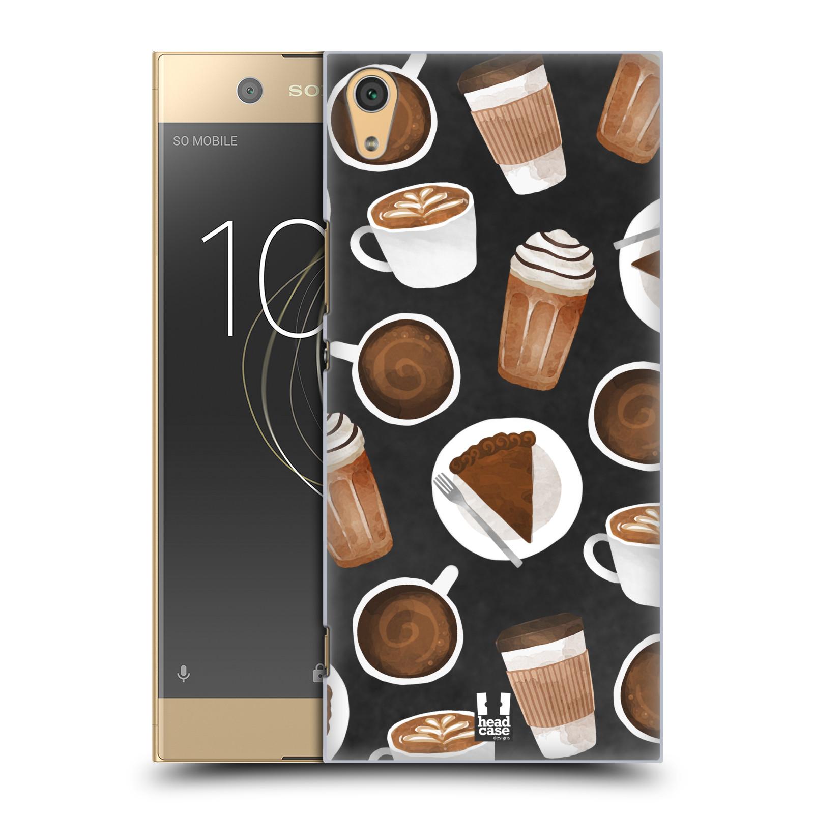 Plastové pouzdro na mobil Sony Xperia XA1 Ultra - Head Case - Kafíčka a dortík