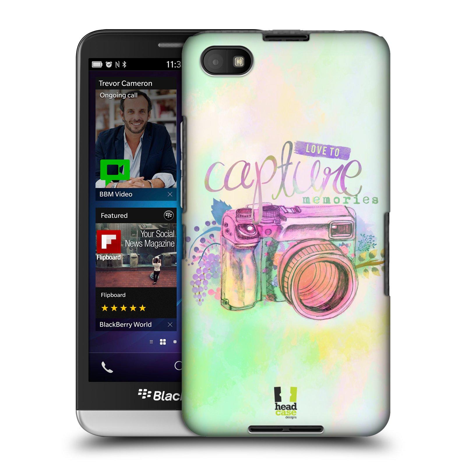 Plastové pouzdro na mobil Blackberry Z30 HEAD CASE Shutter Capture (Kryt či obal na mobilní telefon Blackberry Z30)