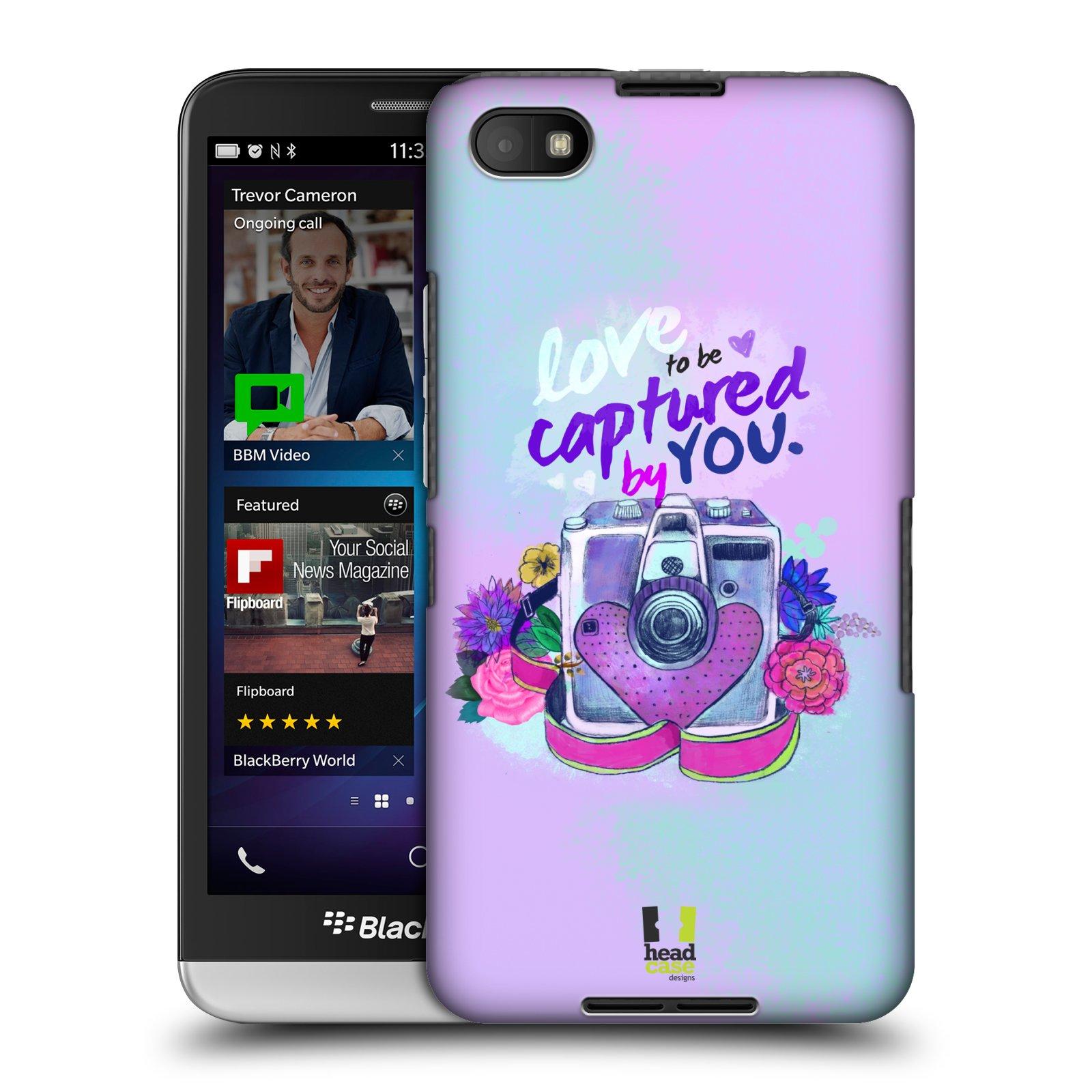 Plastové pouzdro na mobil Blackberry Z30 HEAD CASE Love to be captured (Kryt či obal na mobilní telefon Blackberry Z30)