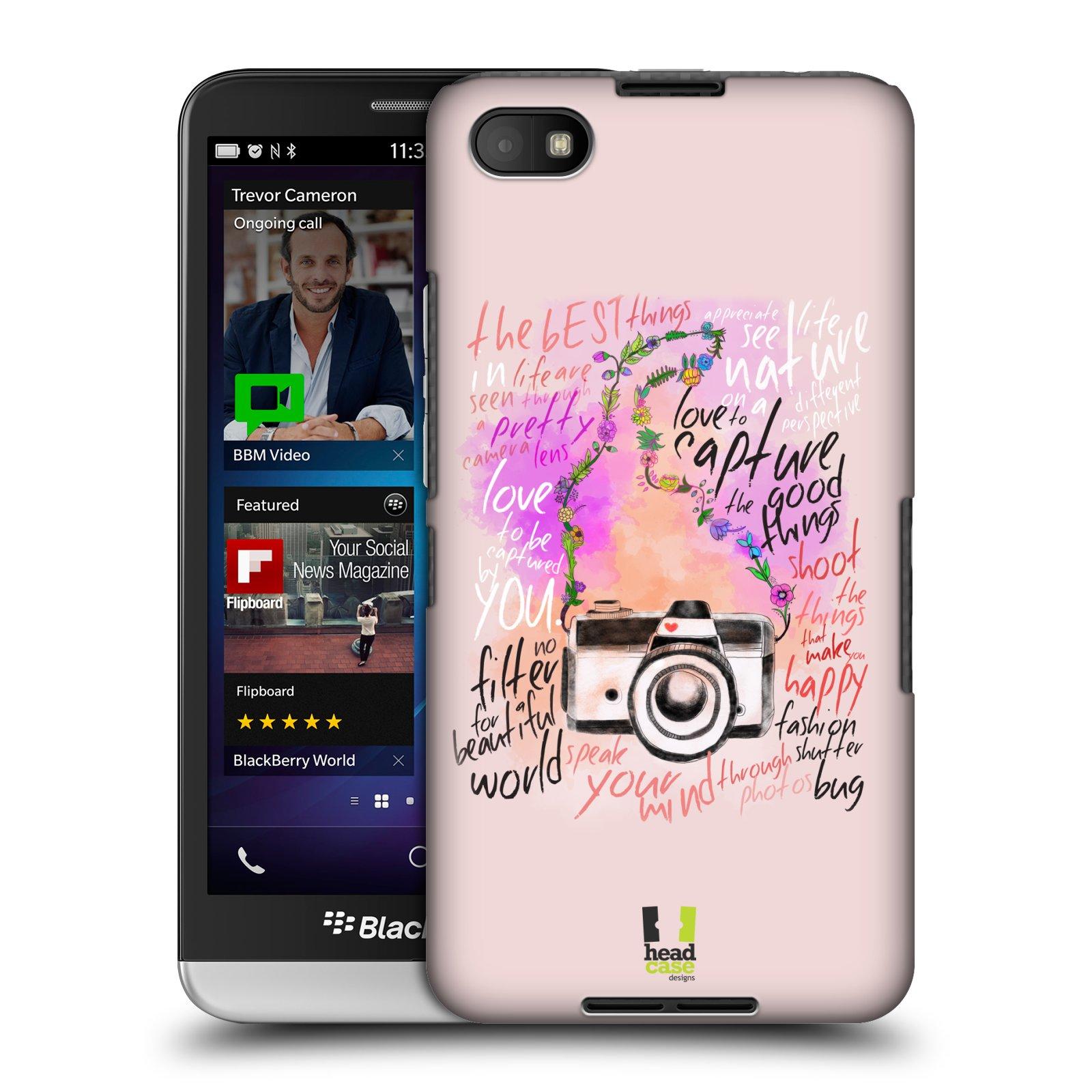 Plastové pouzdro na mobil Blackberry Z30 HEAD CASE Shutter photo (Kryt či obal na mobilní telefon Blackberry Z30)