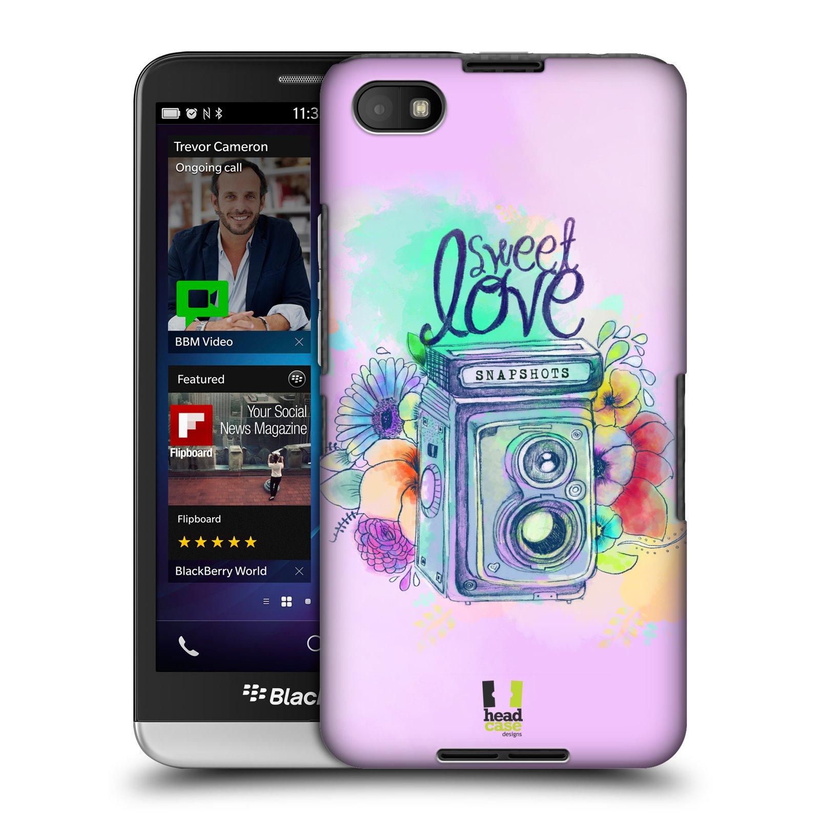 Plastové pouzdro na mobil Blackberry Z30 HEAD CASE Shutter sweet love (Kryt či obal na mobilní telefon Blackberry Z30)