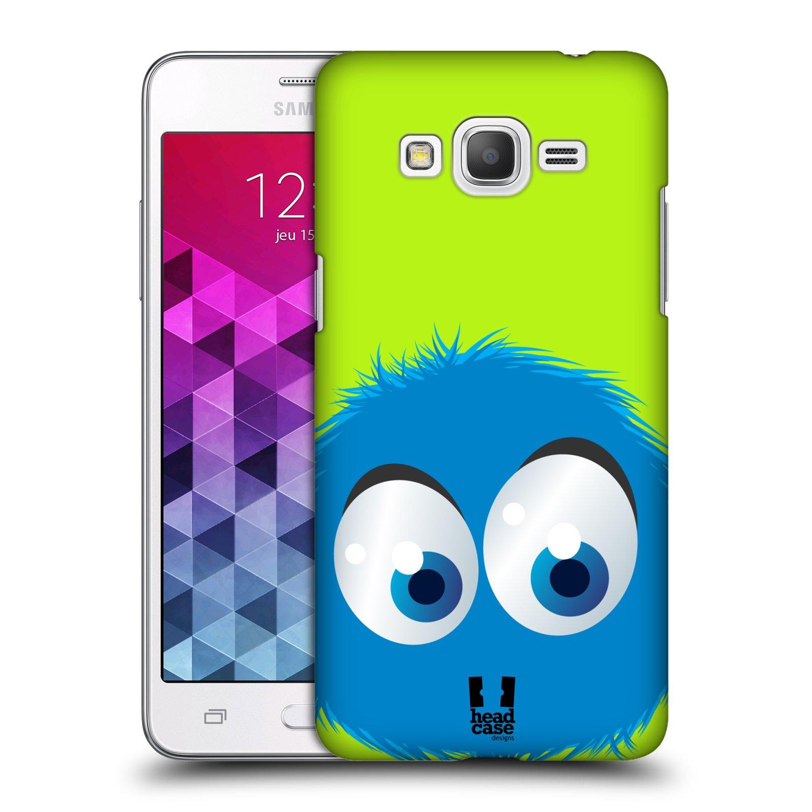 Plastové pouzdro na mobil Samsung Galaxy Grand Prime VE HEAD CASE FUZÍK MODRÝ