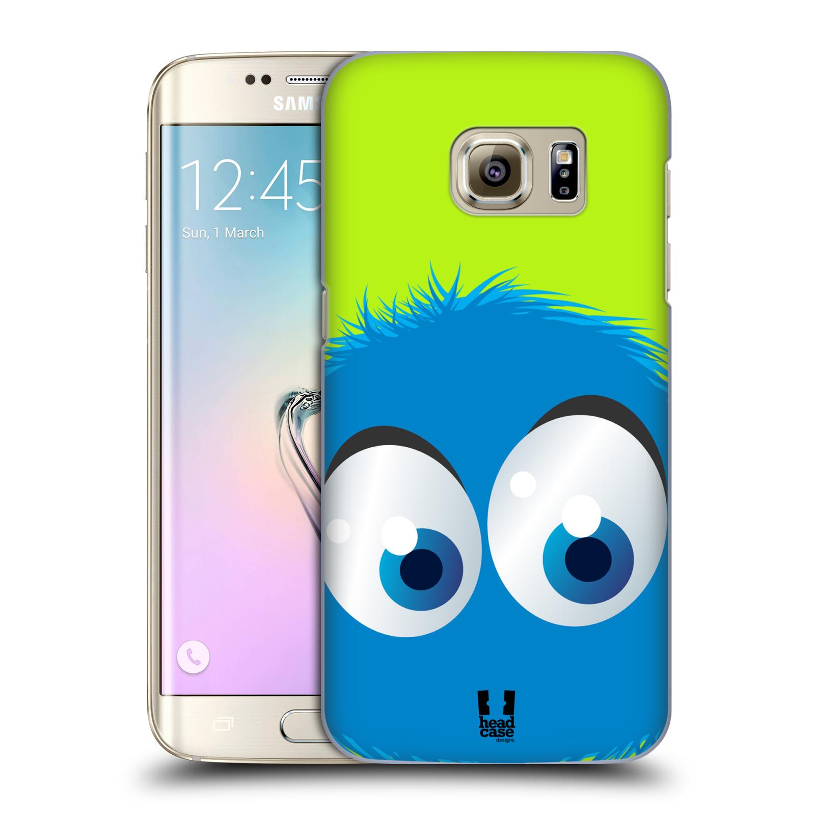 Plastové pouzdro na mobil Samsung Galaxy S7 Edge HEAD CASE FUZÍK MODRÝ (Kryt či obal na mobilní telefon Samsung Galaxy S7 Edge SM-G935F)