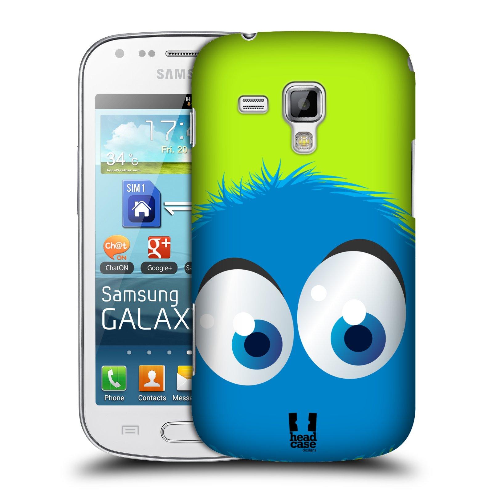 Plastové pouzdro na mobil Samsung Galaxy Trend Plus HEAD CASE FUZÍK MODRÝ