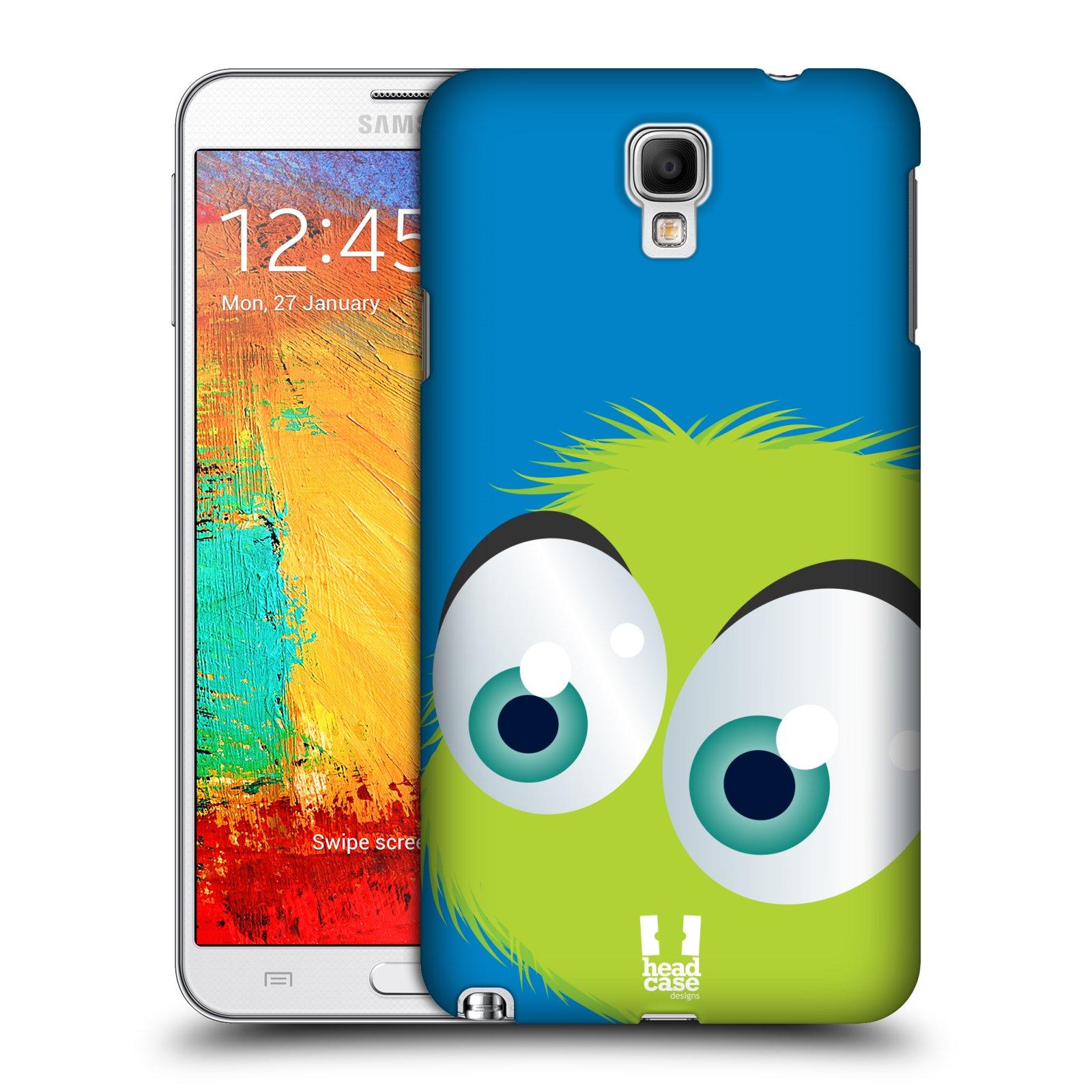 Plastové pouzdro na mobil Samsung Galaxy Note 3 Neo HEAD CASE FUZÍK ZELENÝ (Kryt či obal na mobilní telefon Samsung Galaxy Note 3 Neo SM-N7505)