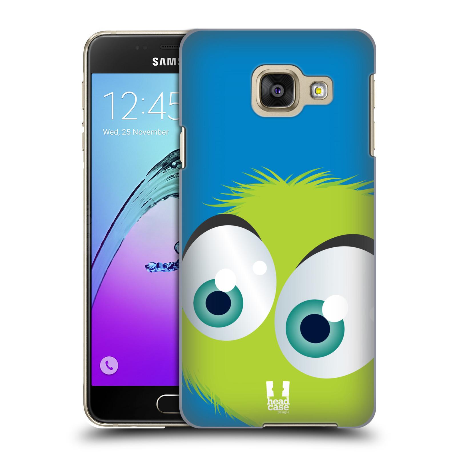 Plastové pouzdro na mobil Samsung Galaxy A3 (2016) HEAD CASE FUZÍK ZELENÝ (Kryt či obal na mobilní telefon Samsung Galaxy A3 (2016) SM-A310F)