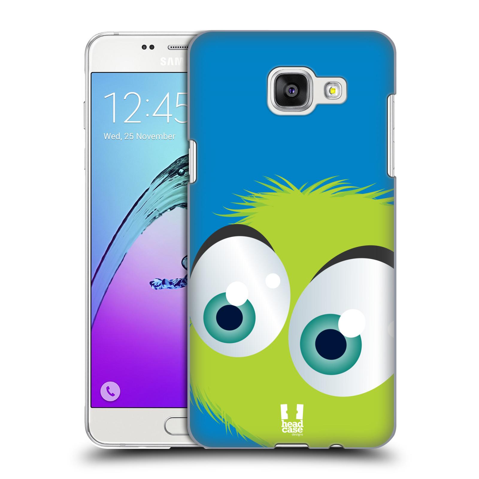 Plastové pouzdro na mobil Samsung Galaxy A5 (2016) HEAD CASE FUZÍK ZELENÝ (Kryt či obal na mobilní telefon Samsung Galaxy A5 (2016) SM-A510F)