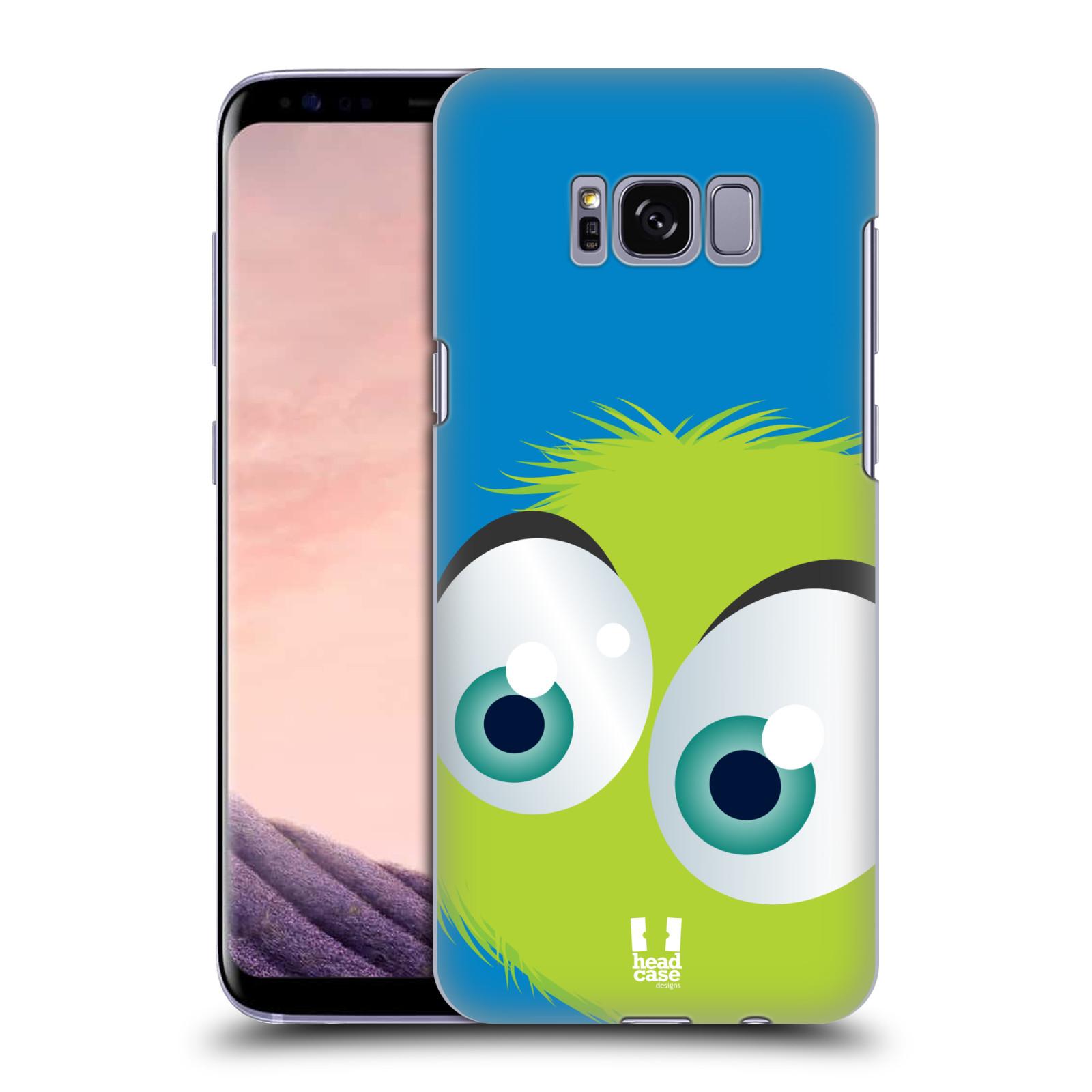 Plastové pouzdro na mobil Samsung Galaxy S8 Head Case FUZÍK ZELENÝ (Plastový kryt či obal na mobilní telefon Samsung Galaxy S8 SM-G9500)