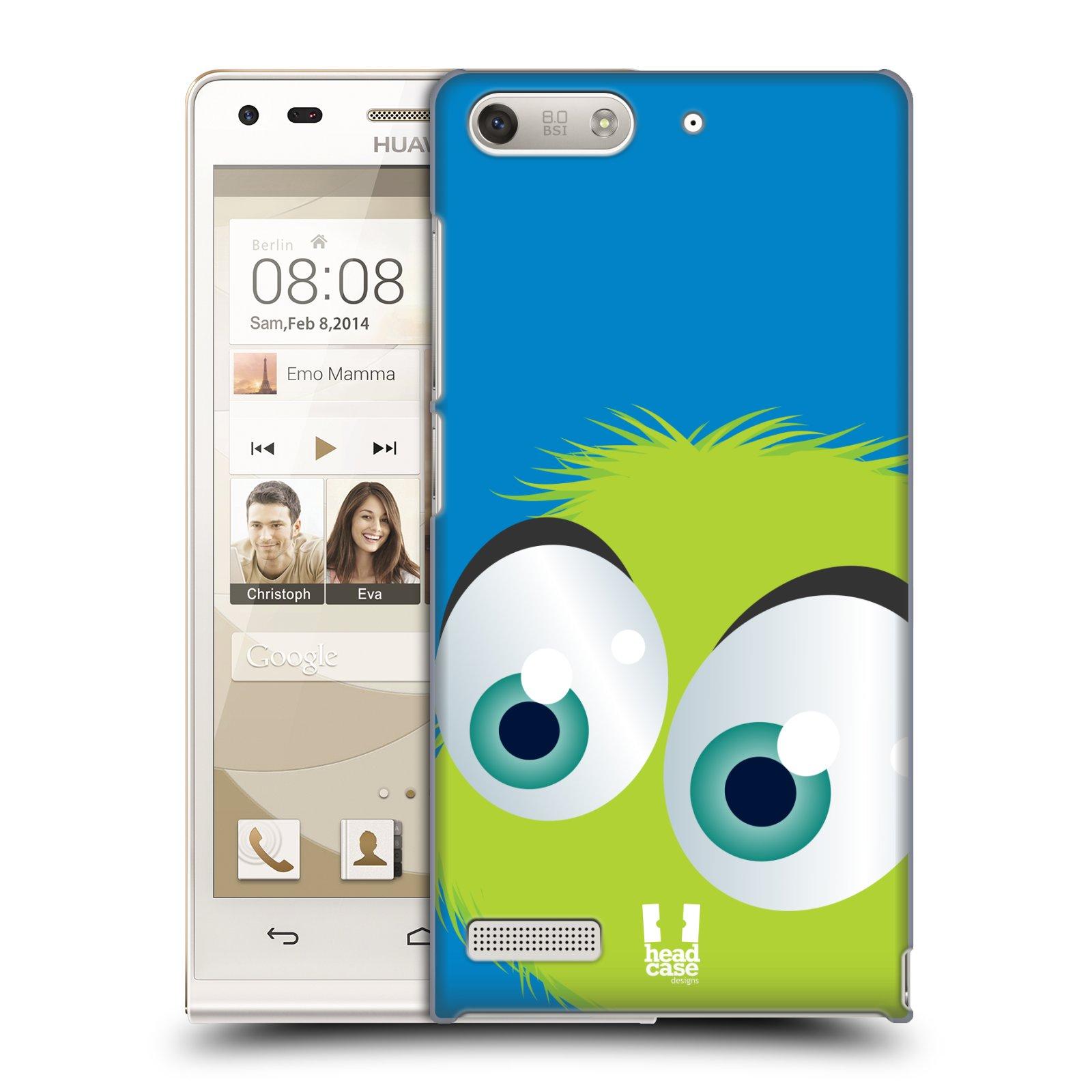 Plastové pouzdro na mobil Huawei Ascend G6 HEAD CASE FUZÍK ZELENÝ (Kryt či obal na mobilní telefon Huawei Ascend G6 bez LTE)