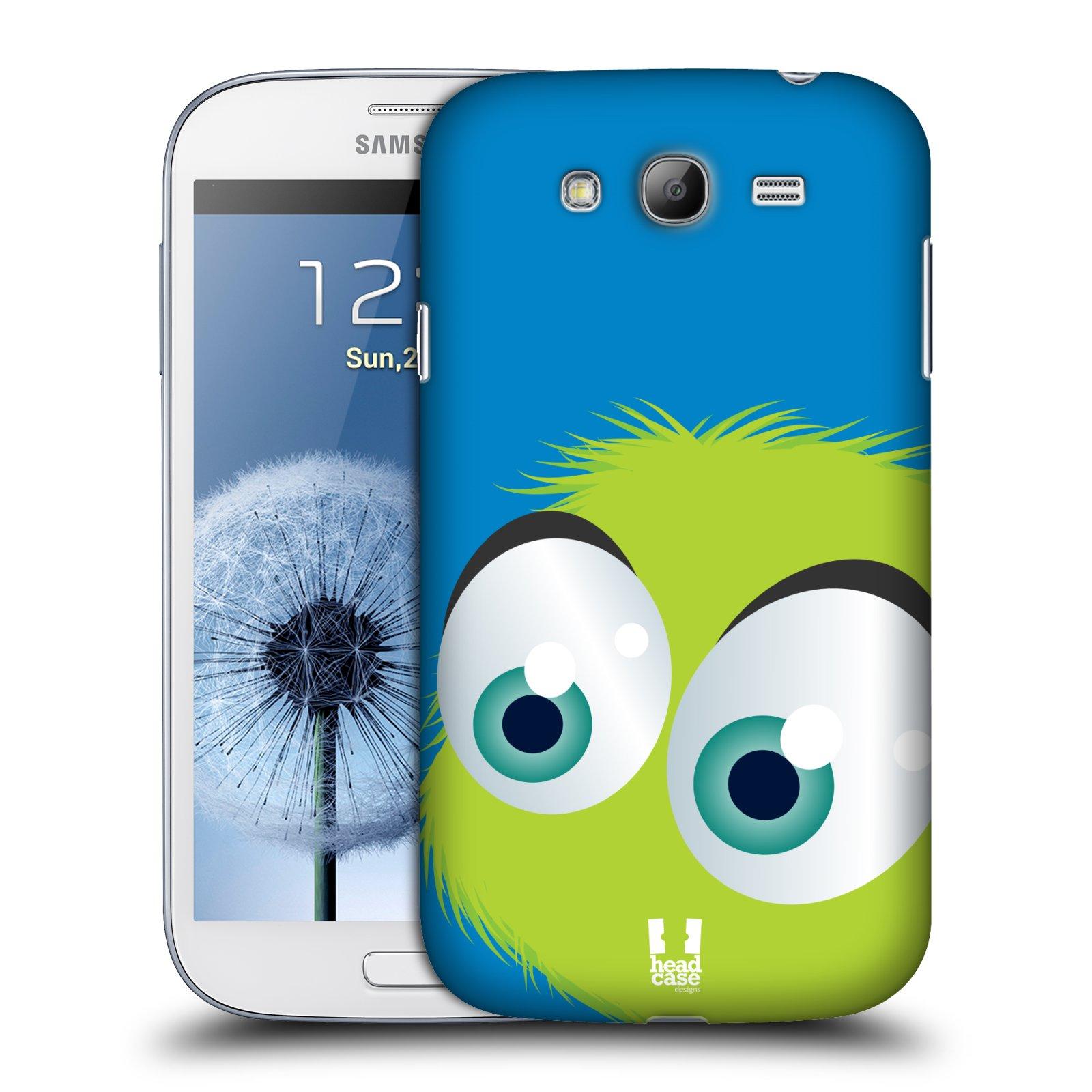 Plastové pouzdro na mobil Samsung Galaxy Grand Neo Plus HEAD CASE FUZÍK ZELENÝ (Kryt či obal na mobilní telefon Samsung Galaxy Grand Neo Plus GT-i9060i)