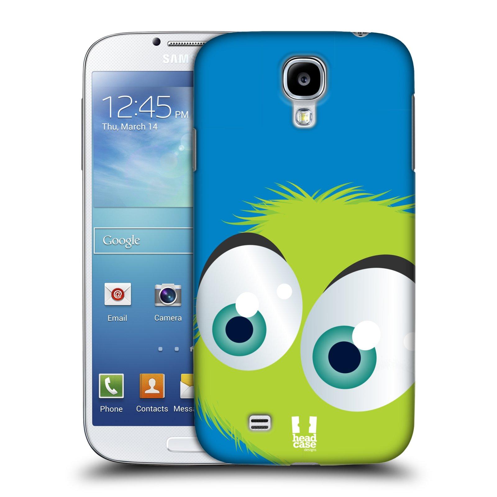 Plastové pouzdro na mobil Samsung Galaxy S4 HEAD CASE FUZÍK ZELENÝ (Kryt či obal na mobilní telefon Samsung Galaxy S4 GT-i9505 / i9500)