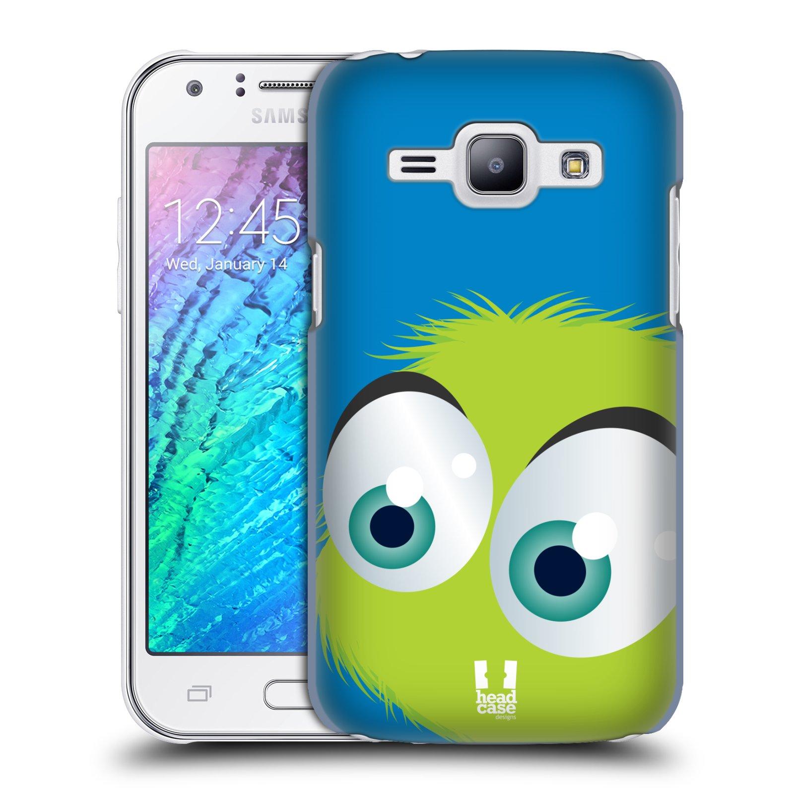 Plastové pouzdro na mobil Samsung Galaxy J1 HEAD CASE FUZÍK ZELENÝ (Kryt či obal na mobilní telefon Samsung Galaxy J1 a J1 Duos )
