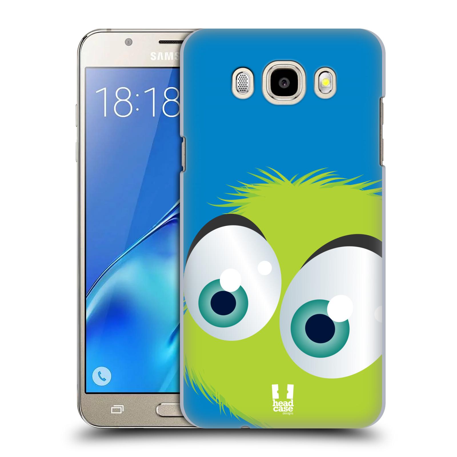Plastové pouzdro na mobil Samsung Galaxy J5 (2016) HEAD CASE FUZÍK ZELENÝ (Plastový kryt či obal na mobilní telefon Samsung Galaxy J5 (2016) SM-J510)