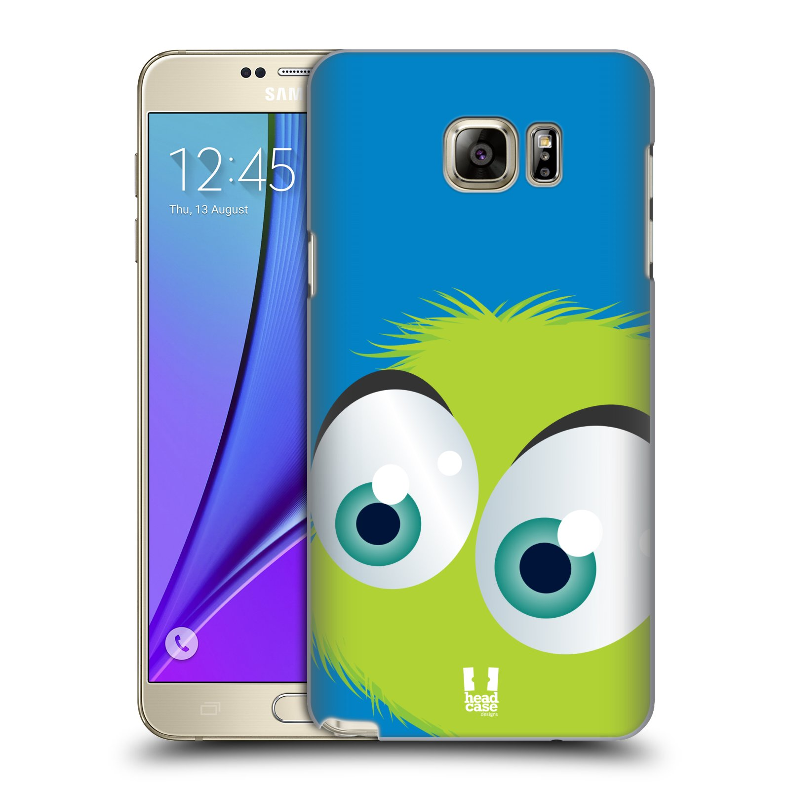 Plastové pouzdro na mobil Samsung Galaxy Note 5 HEAD CASE FUZÍK ZELENÝ (Kryt či obal na mobilní telefon Samsung Galaxy Note 5 SM-N920)