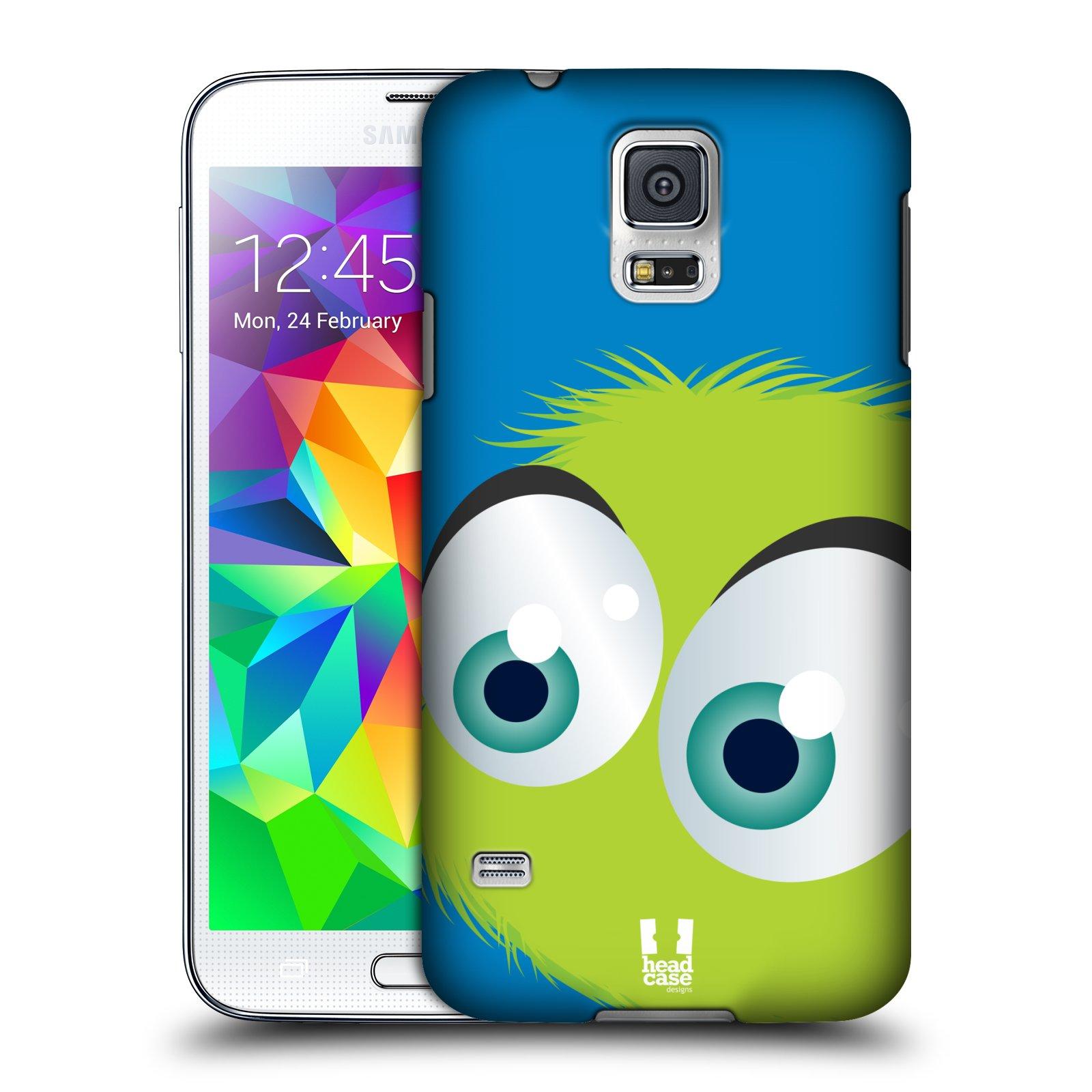 Plastové pouzdro na mobil Samsung Galaxy S5 Neo HEAD CASE FUZÍK ZELENÝ (Kryt či obal na mobilní telefon Samsung Galaxy S5 Neo SM-G903F)