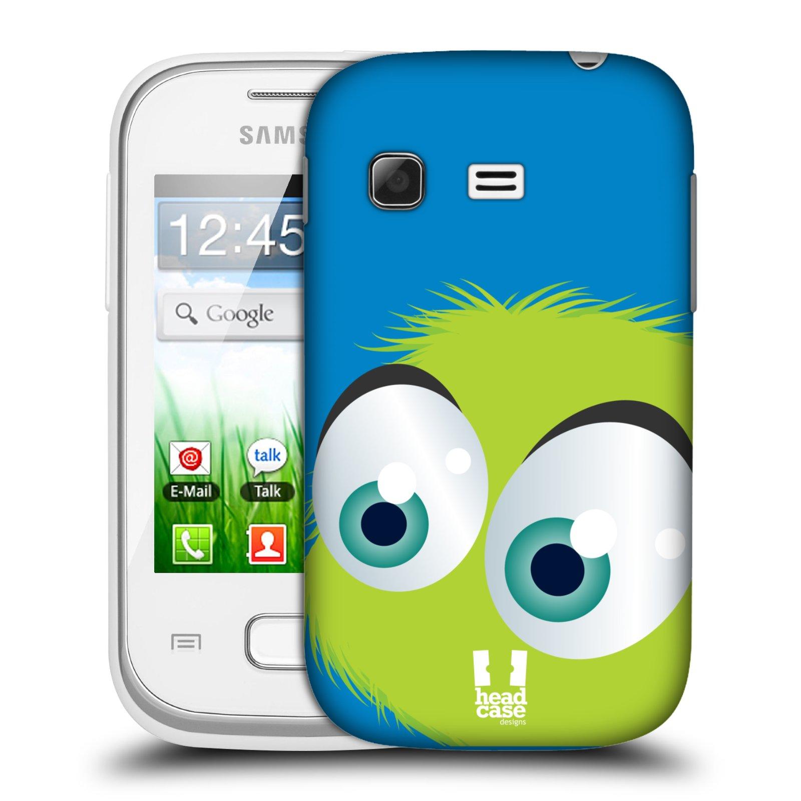 Plastové pouzdro na mobil Samsung Galaxy Pocket HEAD CASE FUZÍK ZELENÝ (Kryt či obal na mobilní telefon Samsung Galaxy Pocket GT-S5300)