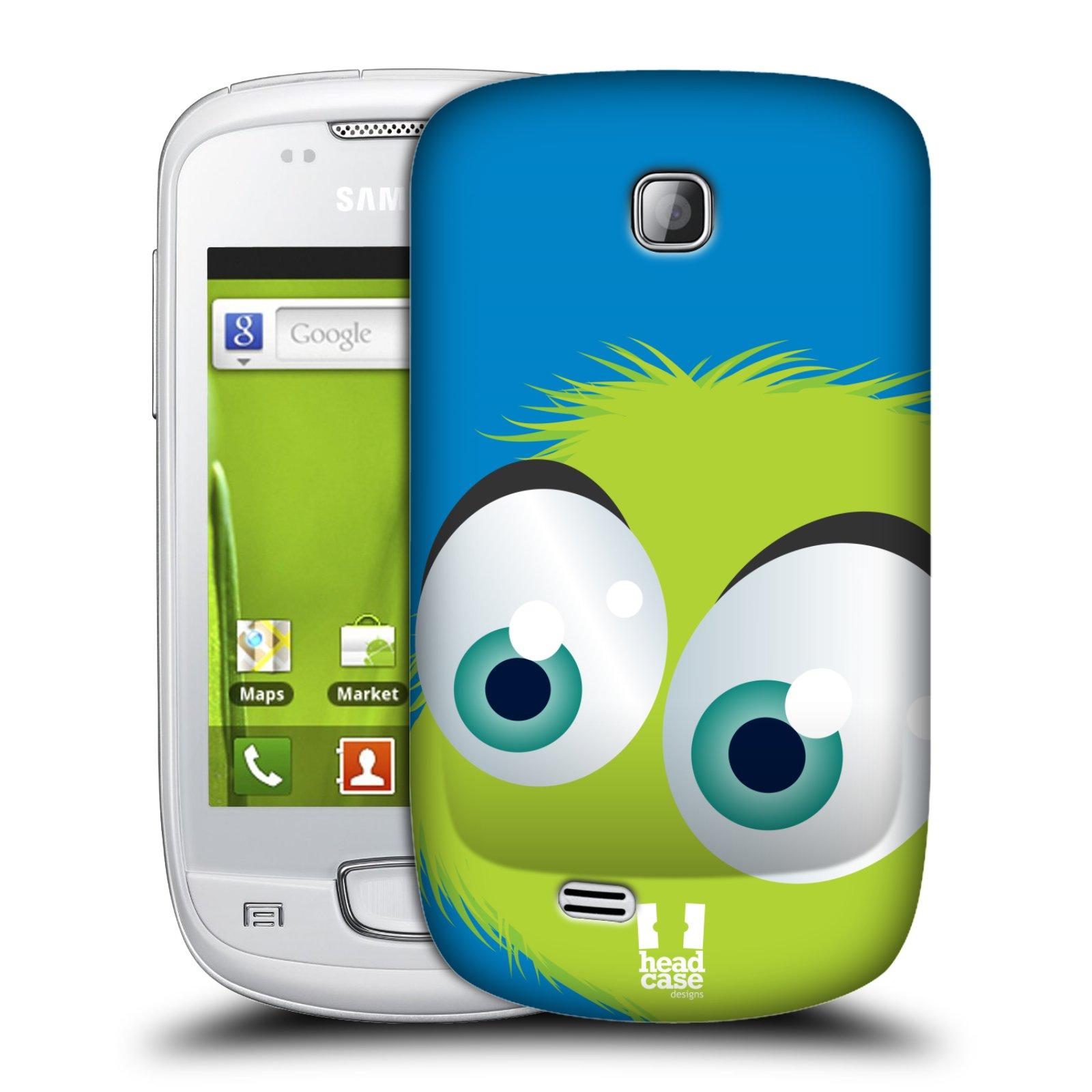 Plastové pouzdro na mobil Samsung Galaxy Mini HEAD CASE FUZÍK ZELENÝ (Kryt či obal na mobilní telefon Samsung Galaxy Mini GT-S5570 / GT-S5570i)