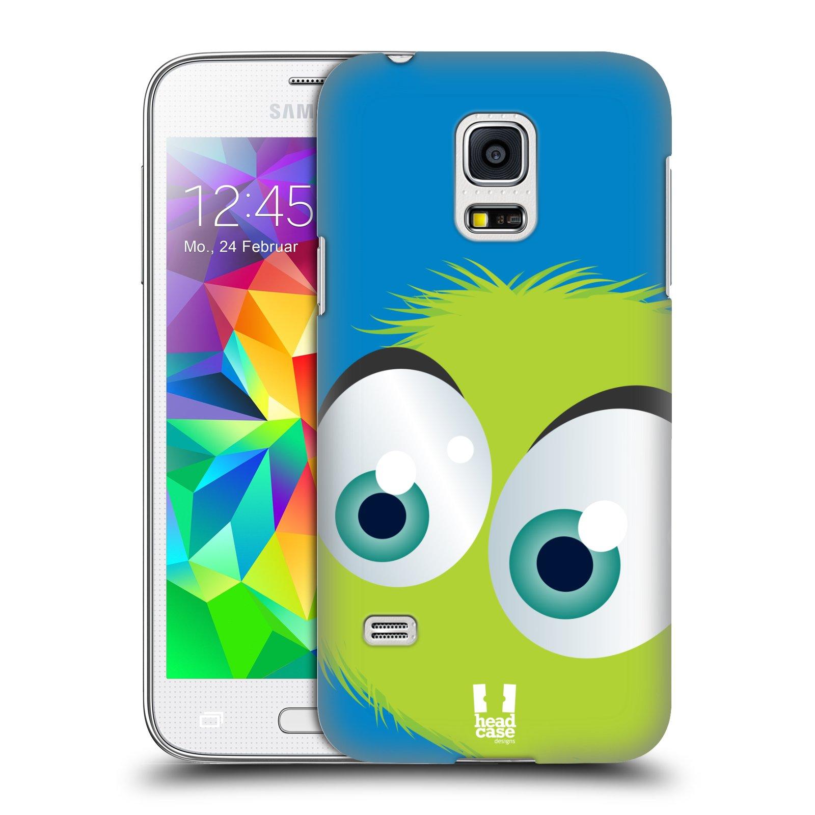 Plastové pouzdro na mobil Samsung Galaxy S5 Mini HEAD CASE FUZÍK ZELENÝ (Kryt či obal na mobilní telefon Samsung Galaxy S5 Mini SM-G800F)