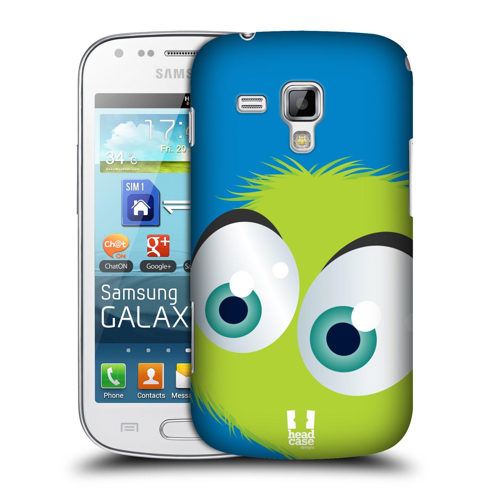 Plastové pouzdro na mobil Samsung Galaxy Trend HEAD CASE FUZÍK ZELENÝ (Kryt či obal na mobilní telefon Samsung Galaxy Trend GT-S7560)
