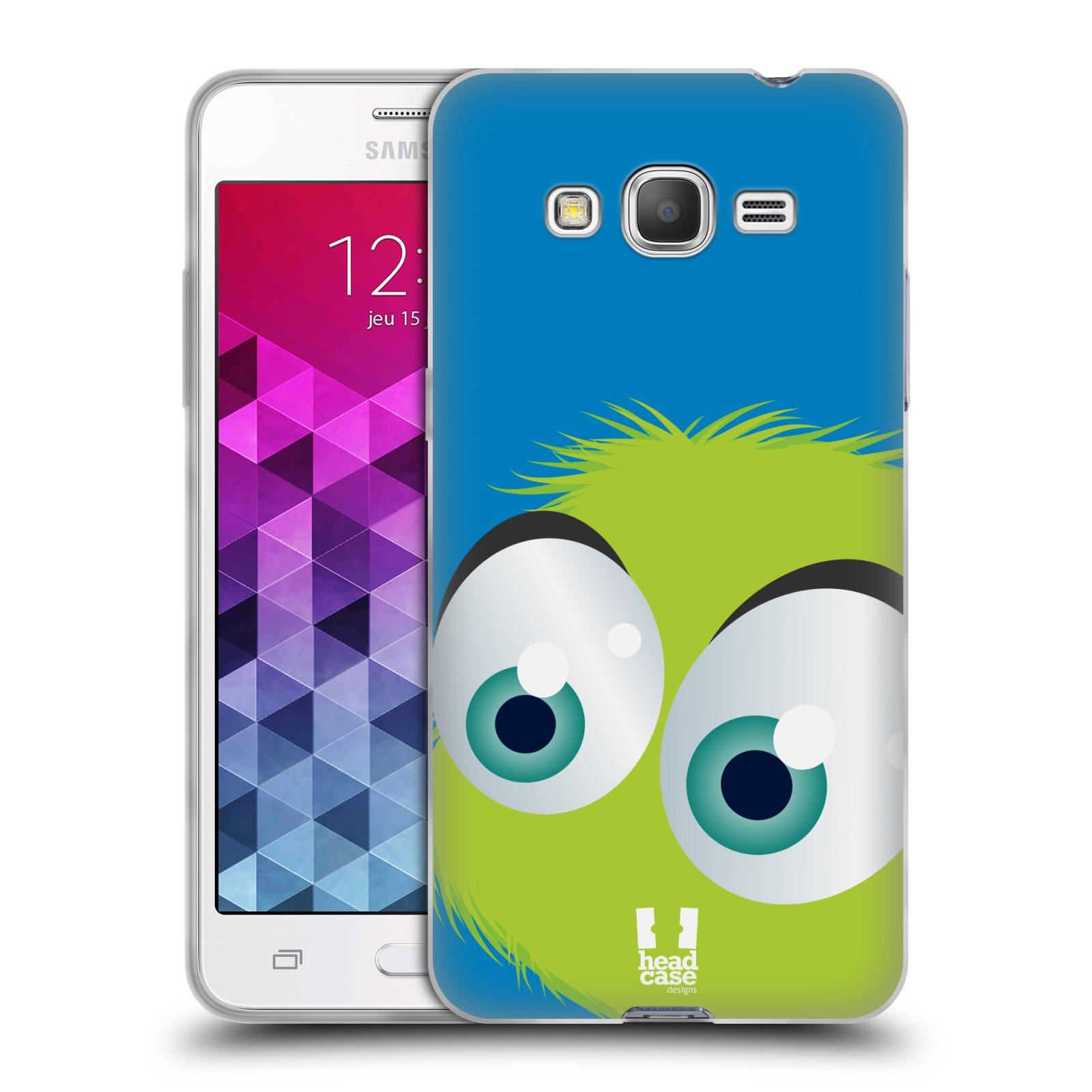 Silikonové pouzdro na mobil Samsung Galaxy Grand Prime VE HEAD CASE FUZÍK ZELENÝ (Silikonový kryt či obal na mobilní telefon Samsung Galaxy Grand Prime VE SM-G531F)
