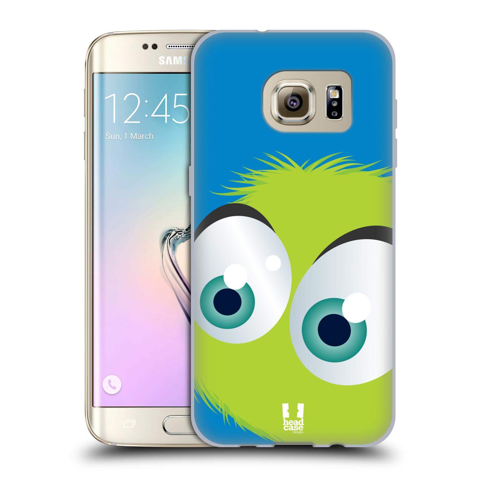 Silikonové pouzdro na mobil Samsung Galaxy S7 Edge HEAD CASE FUZÍK ZELENÝ (Silikonový kryt či obal na mobilní telefon Samsung Galaxy S7 Edge SM-G935F)