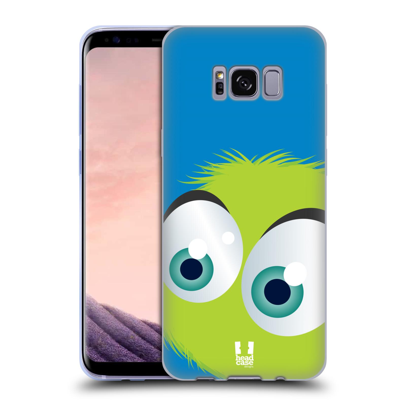 Silikonové pouzdro na mobil Samsung Galaxy S8 Head Case FUZÍK ZELENÝ (Silikonový kryt či obal na mobilní telefon Samsung Galaxy S8 SM-G9500)