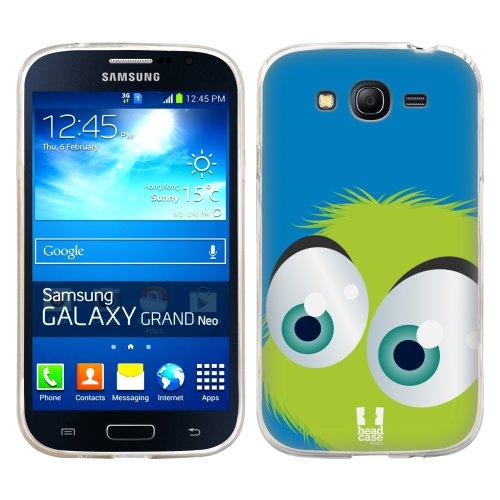 Silikonové pouzdro na mobil Samsung Galaxy Grand Neo HEAD CASE FUZÍK ZELENÝ (Silikonový kryt či obal na mobilní telefon Samsung Galaxy Grand Neo GT-I9060)