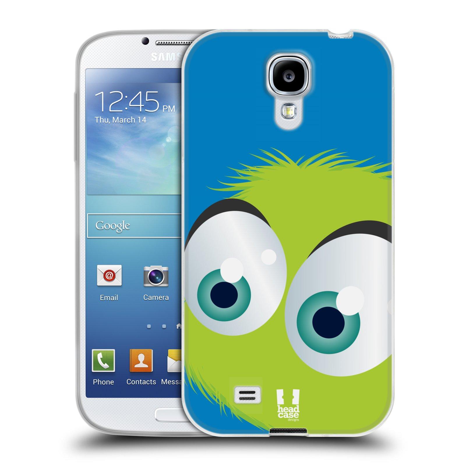 Silikonové pouzdro na mobil Samsung Galaxy S4 HEAD CASE FUZÍK ZELENÝ (Silikonový kryt či obal na mobilní telefon Samsung Galaxy S4 GT-i9505 / i9500)