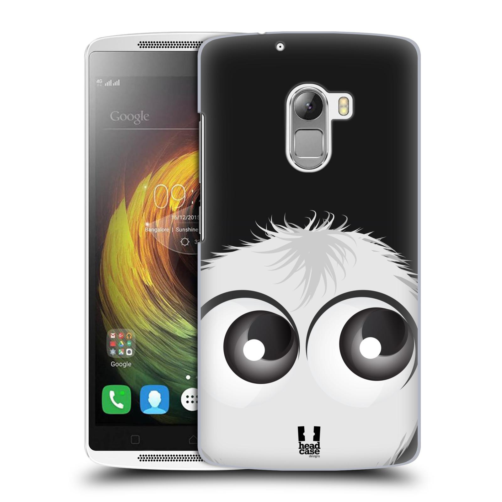 Plastové pouzdro na mobil Lenovo A7010 HEAD CASE FUZÍK BÍLÝ (Kryt či obal na mobilní telefon Lenovo A7010 Dual SIM / K4 Note / Vibe X3 Lite)