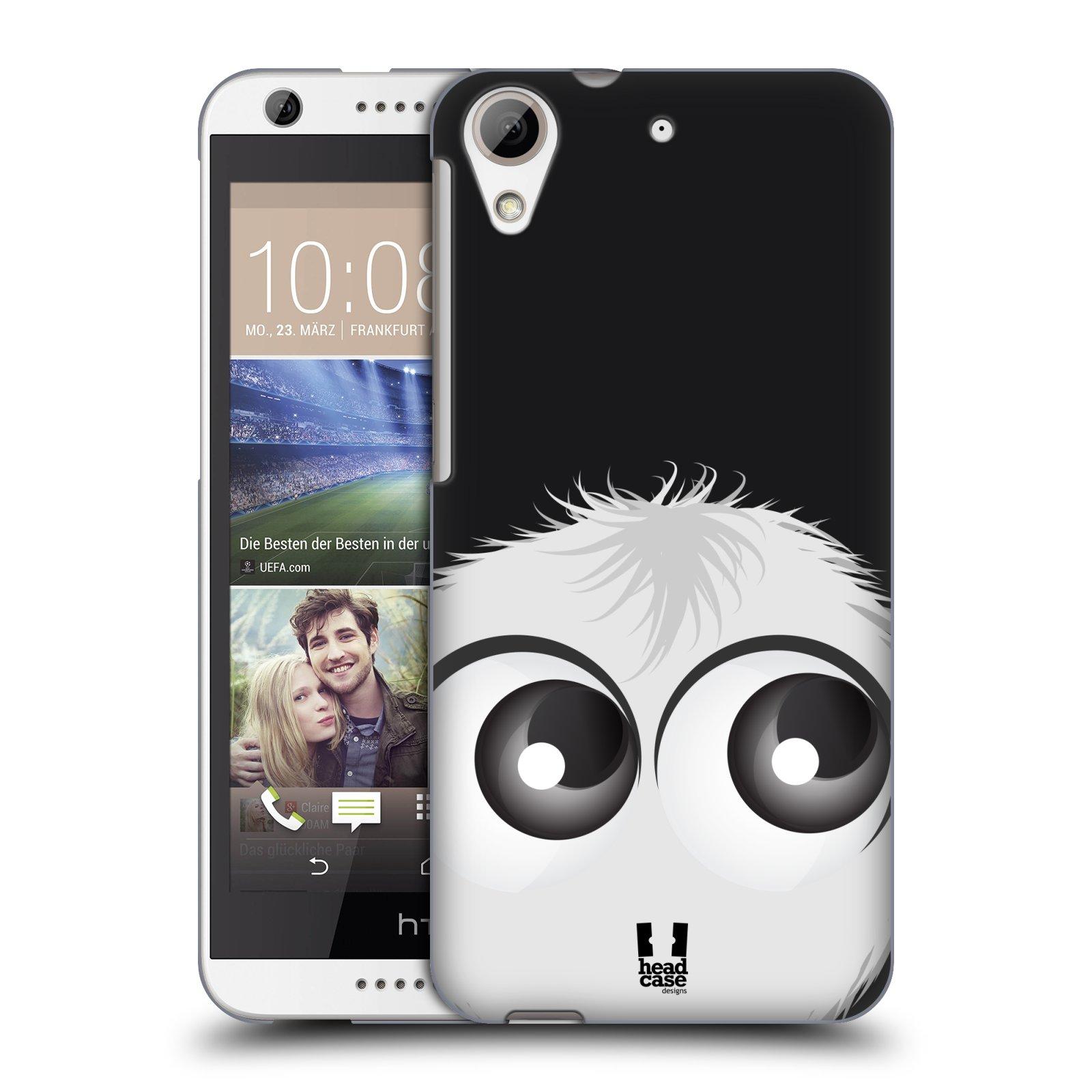 Plastové pouzdro na mobil HTC Desire 626 / 626G HEAD CASE FUZÍK BÍLÝ (Kryt či obal na mobilní telefon HTC Desire 626G Dual SIM a HTC Desire 626)