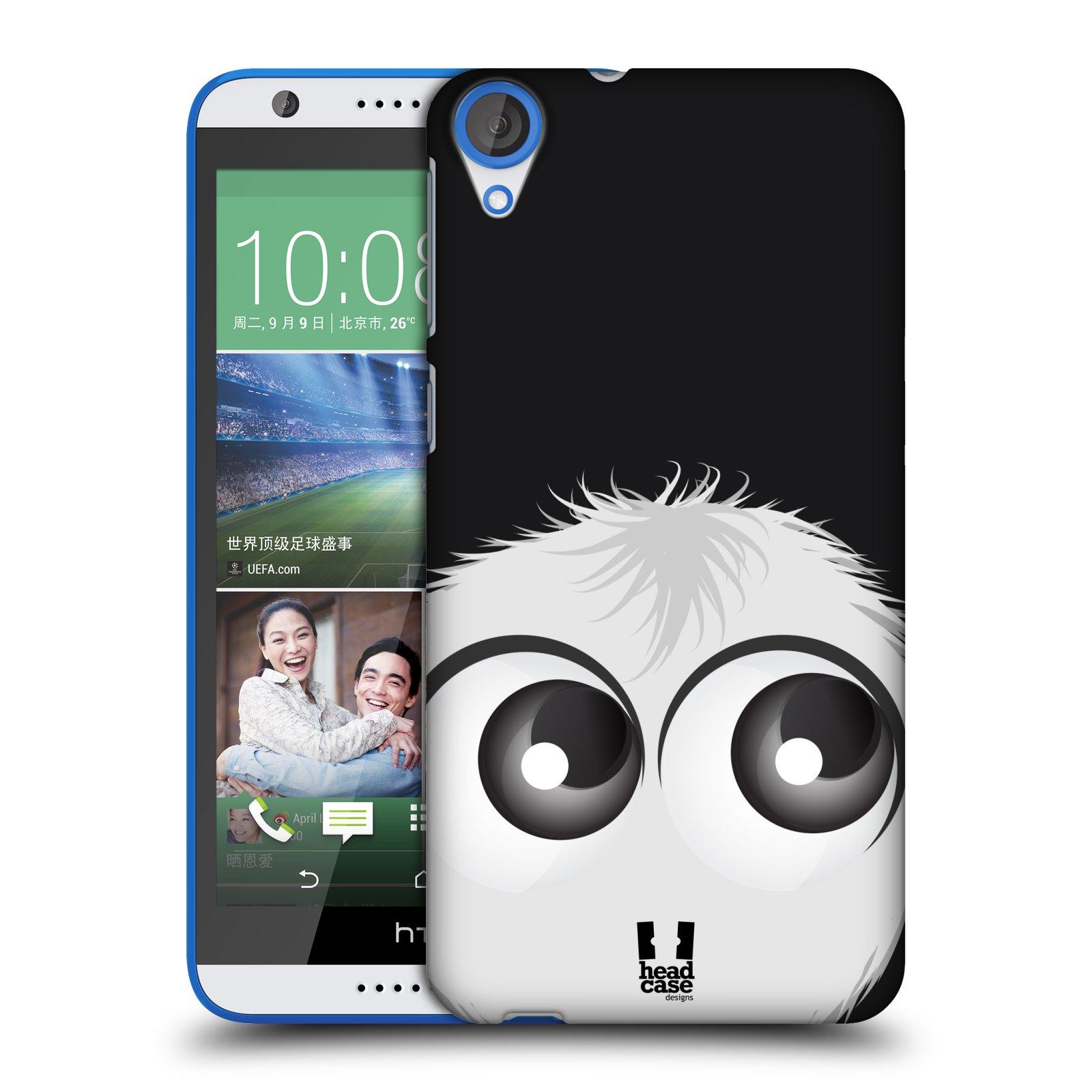 Plastové pouzdro na mobil HTC Desire 820 HEAD CASE FUZÍK BÍLÝ (Kryt či obal na mobilní telefon HTC Desire 820)