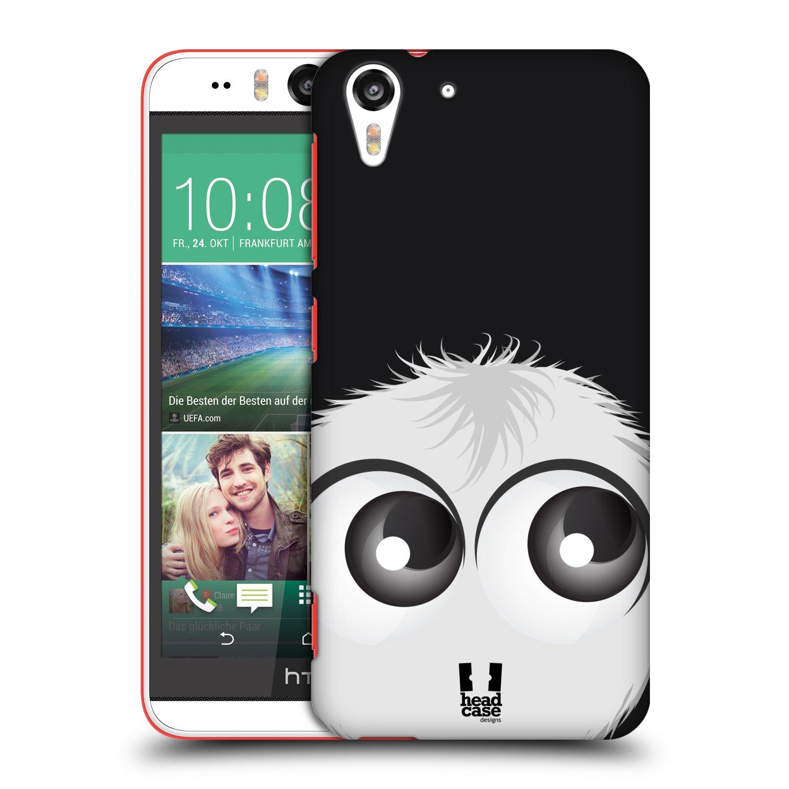 Plastové pouzdro na mobil HTC Desire EYE HEAD CASE FUZÍK BÍLÝ (Kryt či obal na mobilní telefon HTC Desire EYE)