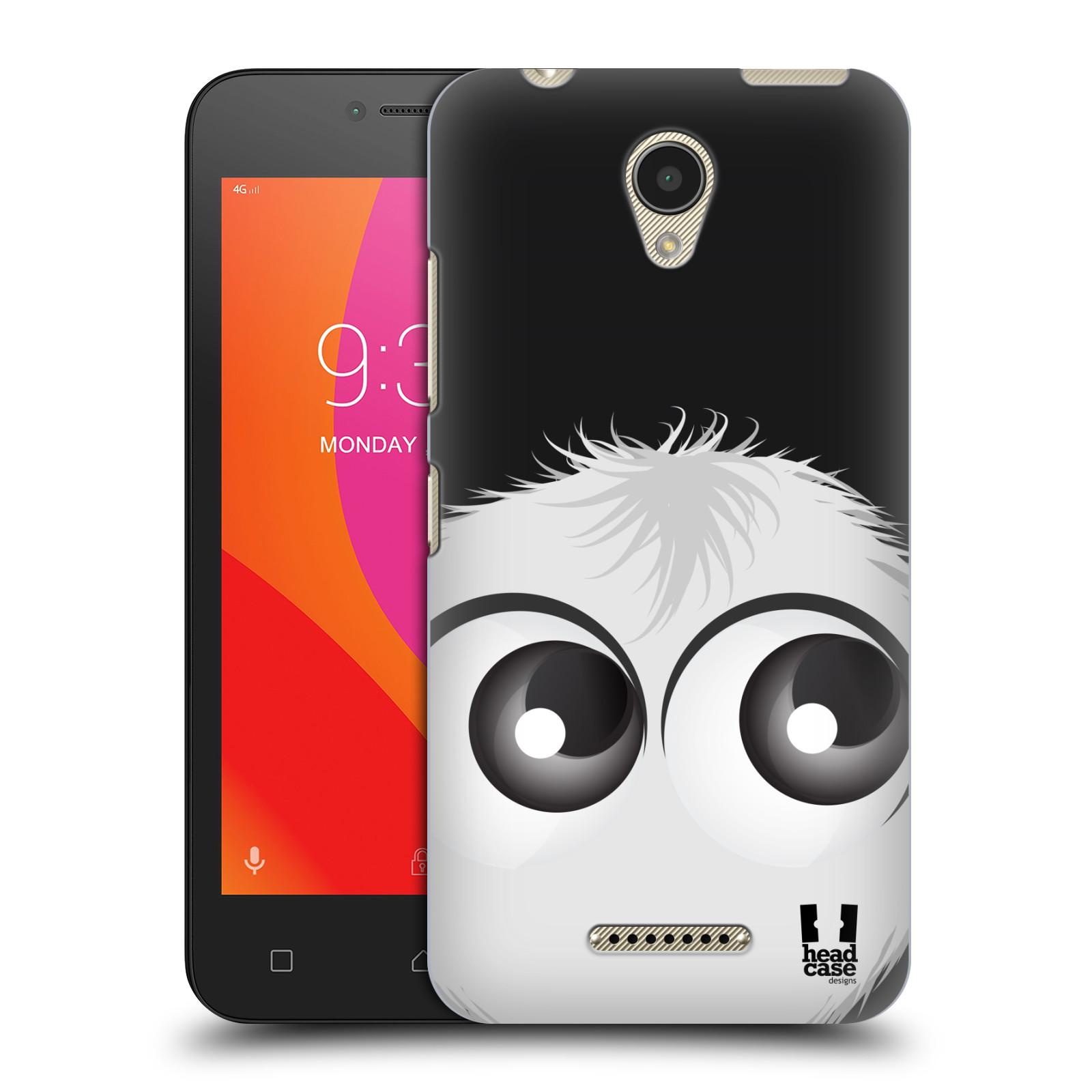 Plastové pouzdro na mobil Lenovo B - Head Case - FUZÍK BÍLÝ (Plastový kryt či obal na mobilní telefon Lenovo B s motivem FUZÍK BÍLÝ)
