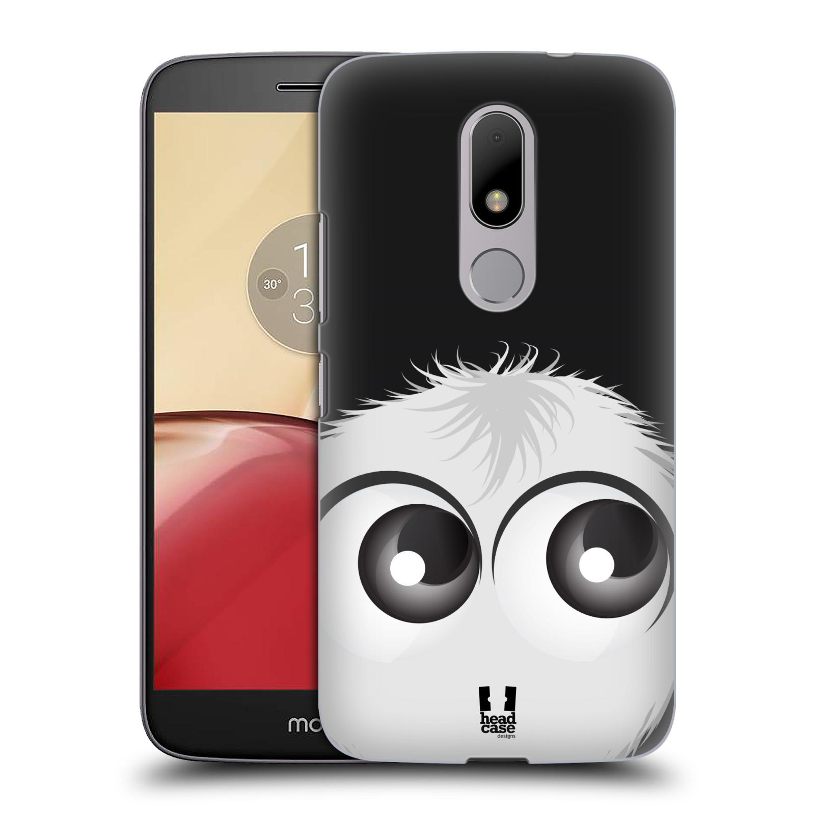 Plastové pouzdro na mobil Lenovo Moto M HEAD CASE FUZÍK BÍLÝ (Plastový kryt či obal na mobilní telefon Lenovo (Motorola) Moto M / Moto M Dual SIM)