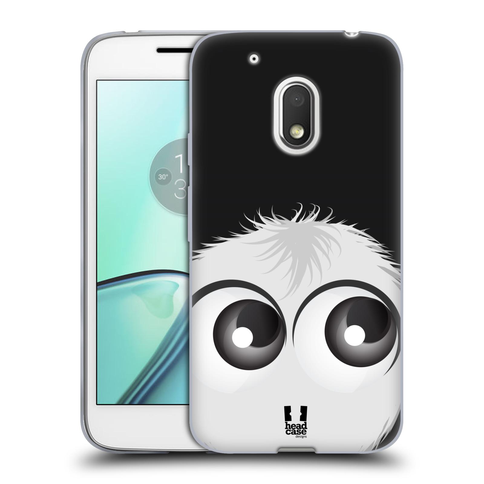 Silikonové pouzdro na mobil Lenovo Moto G4 Play - Head Case - FUZÍK BÍLÝ (Silikonový kryt či obal na mobilní telefon (Motorola) Moto G4 Play)
