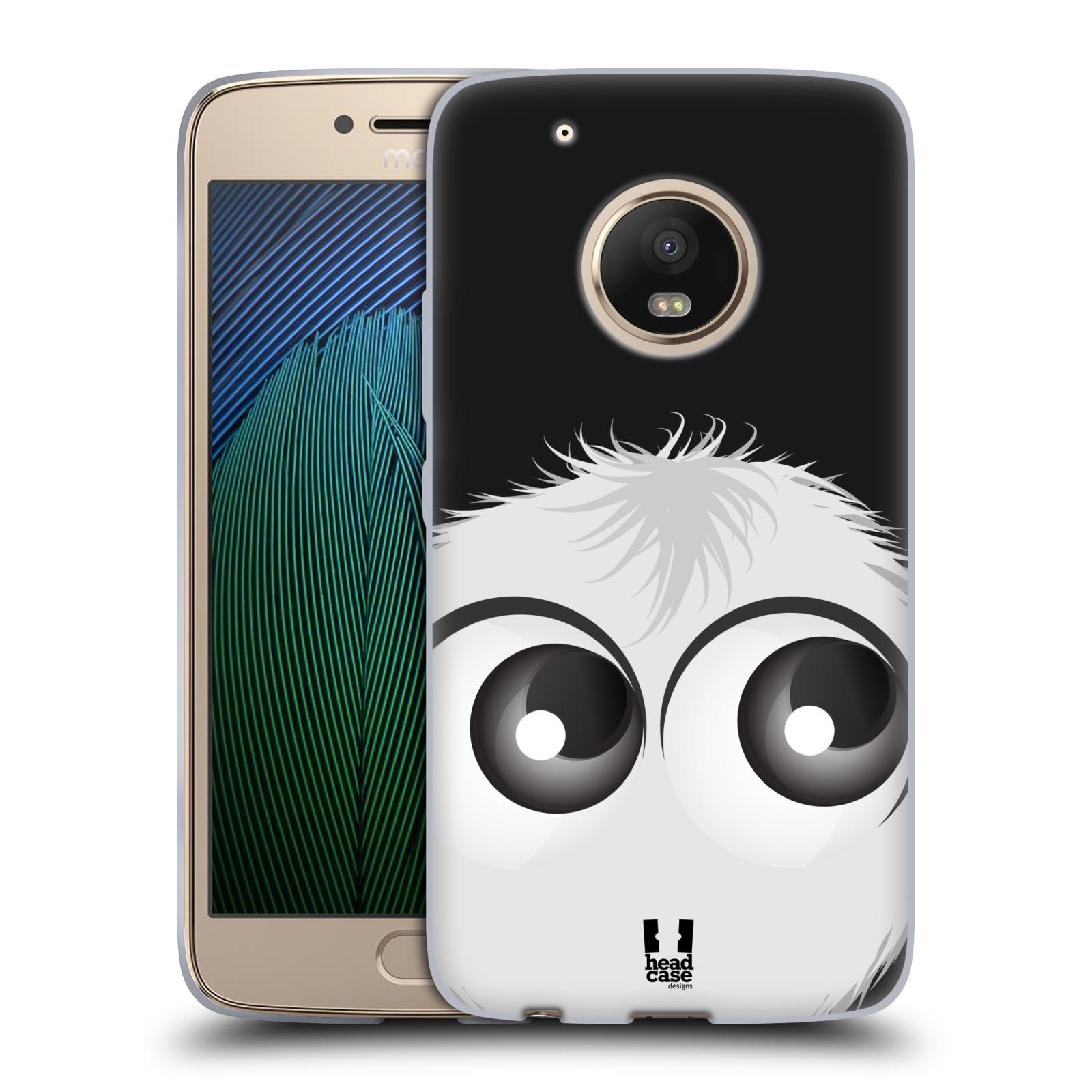Silikonové pouzdro na mobil Lenovo Moto G5 Plus - Head Case FUZÍK BÍLÝ (Silikonový kryt či obal na mobilní telefon Lenovo Moto G5 Plus)