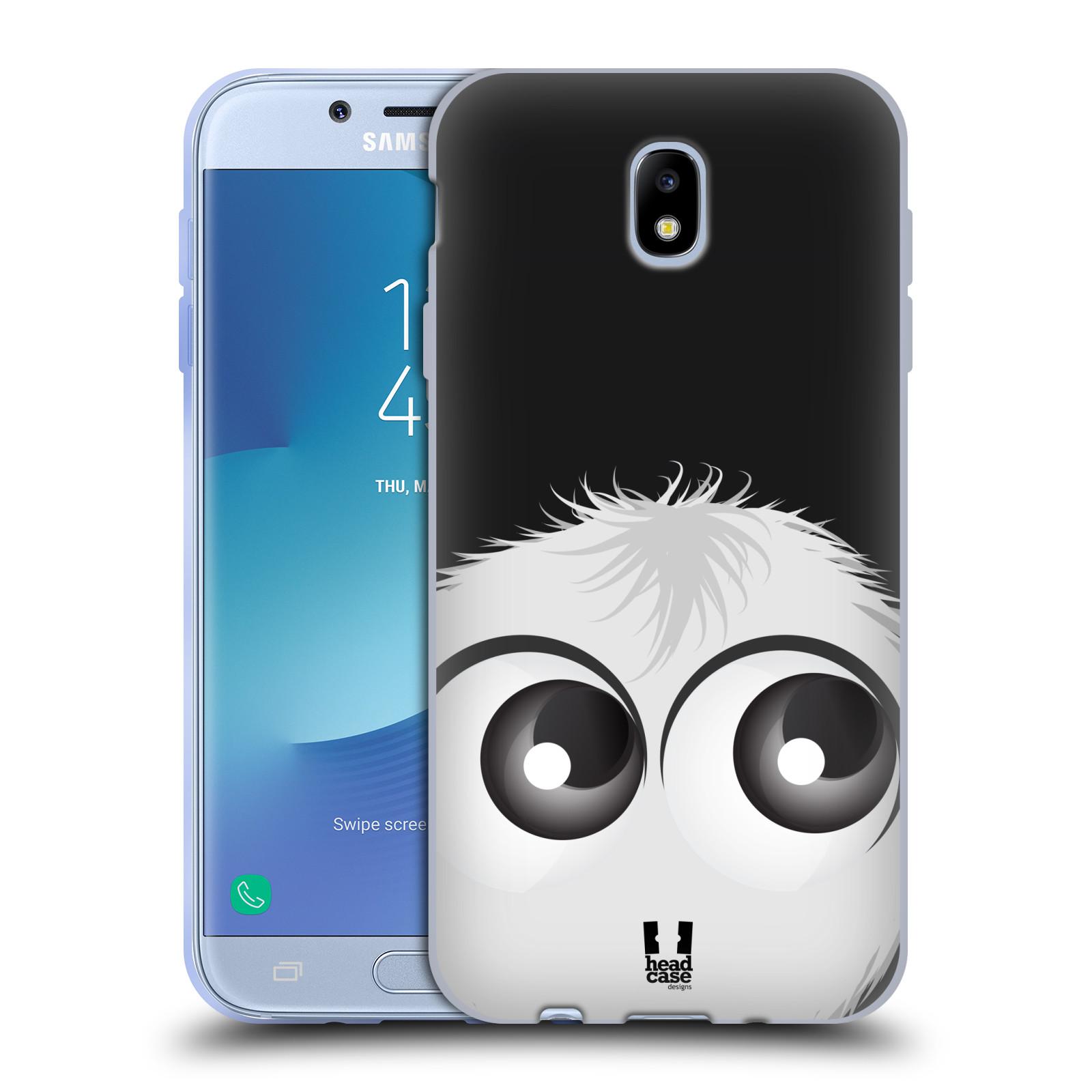 Silikonové pouzdro na mobil Samsung Galaxy J7 (2017) - Head Case - FUZÍK BÍLÝ